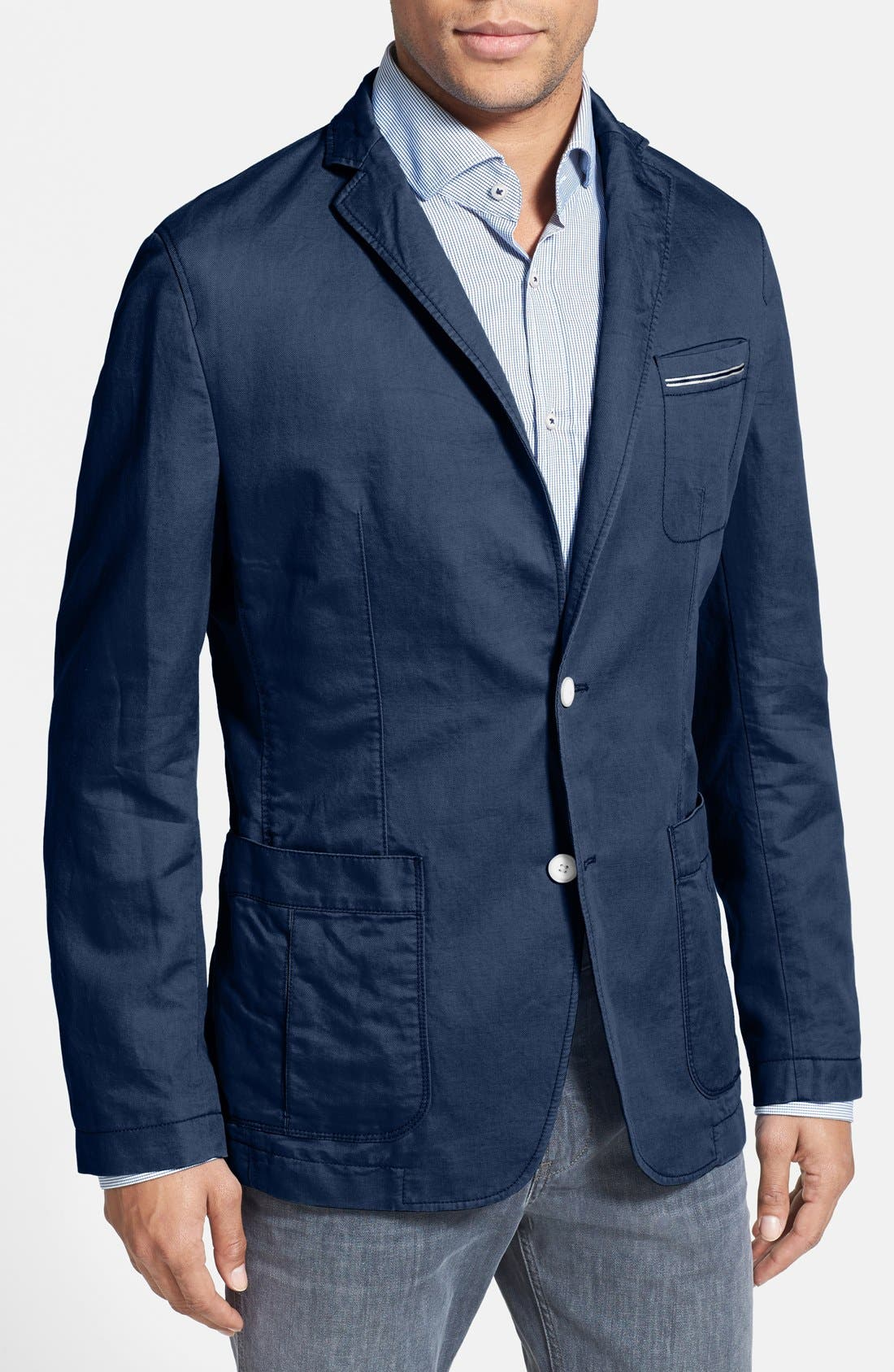 Alternate Image 1 Selected - BOSS HUGO BOSS 'Mevin' Regular Fit Sport Coat