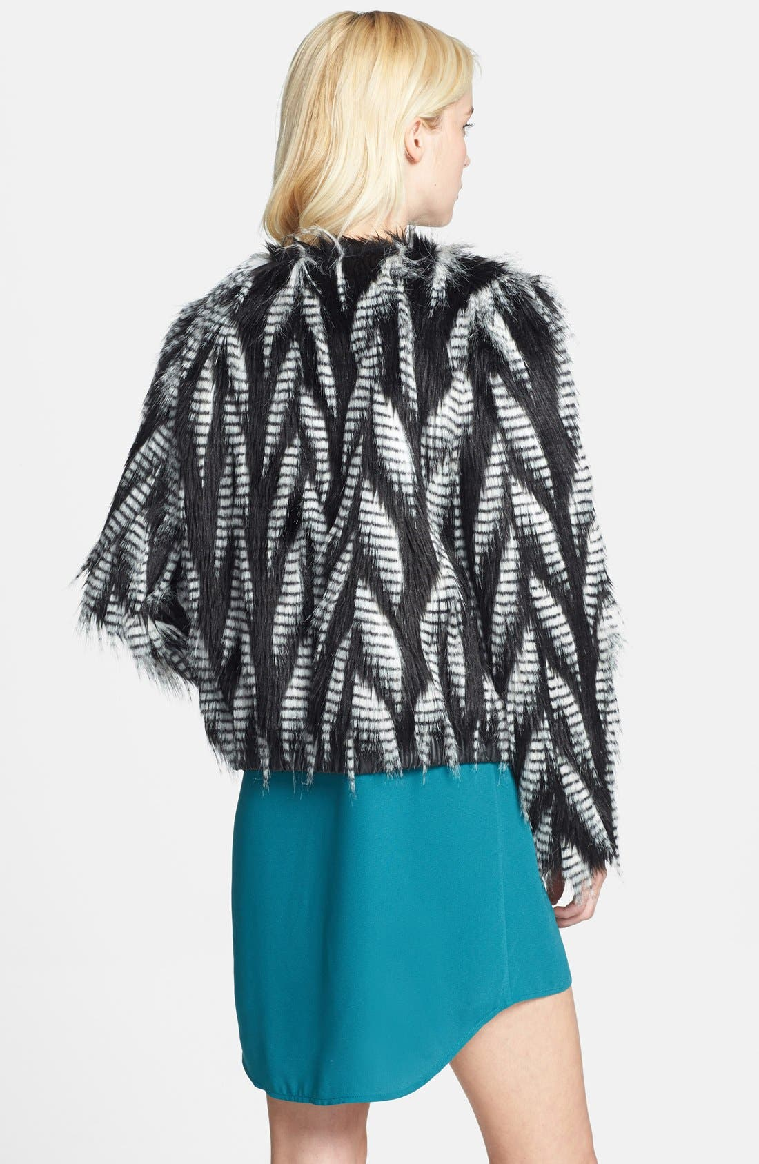 Alternate Image 2  - Leith Faux Fur Jacket