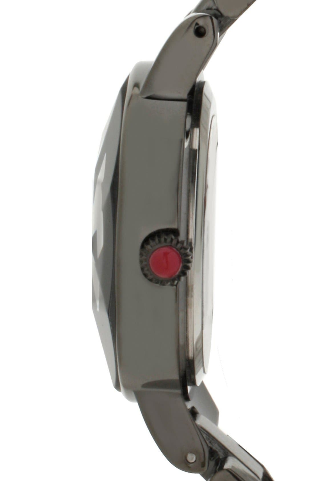 Alternate Image 3  - Betsey Johnson Round Bracelet Watch, 33mm