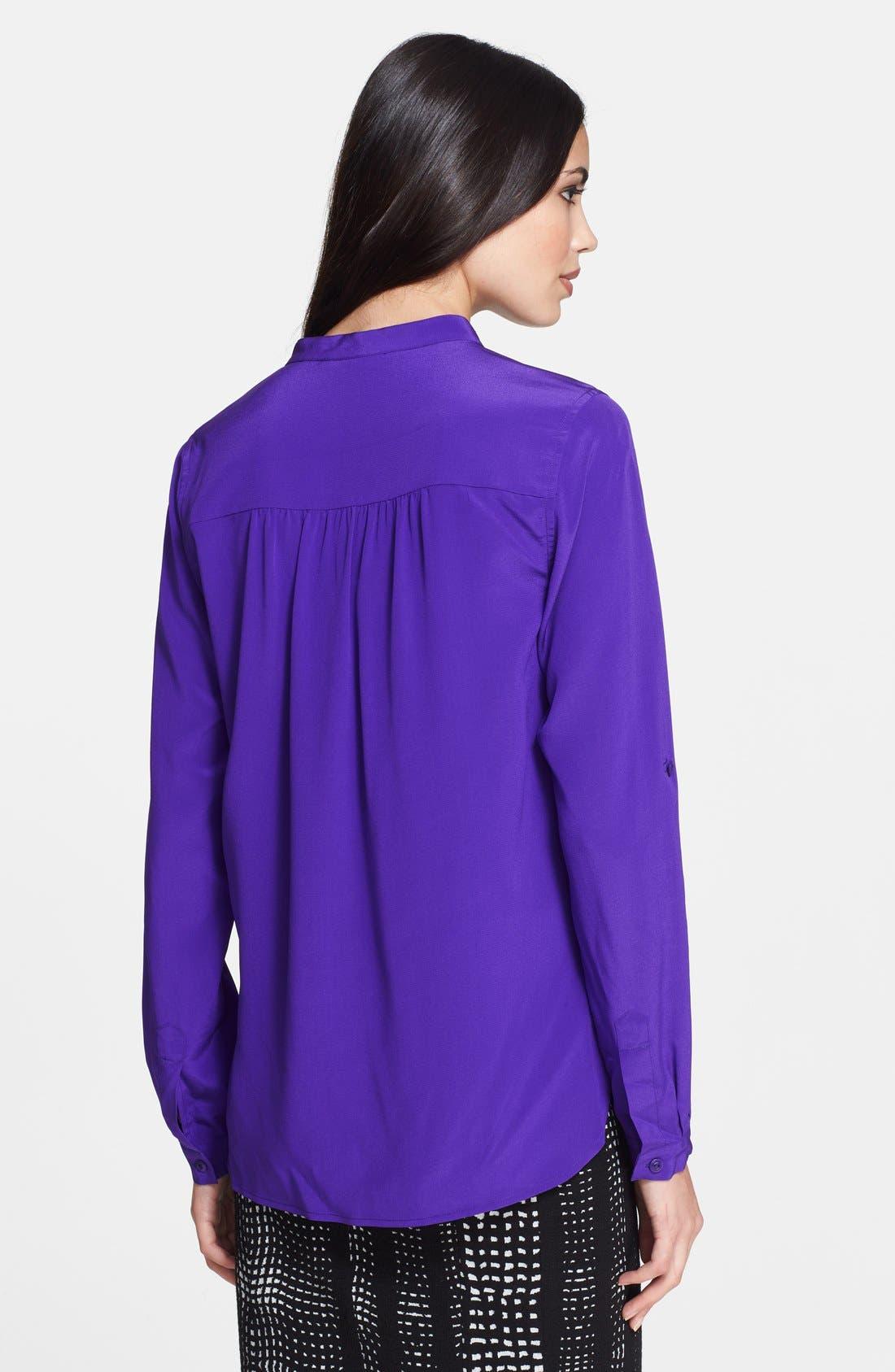 Alternate Image 2  - Diane von Furstenberg 'Harlow' Silk Blouse