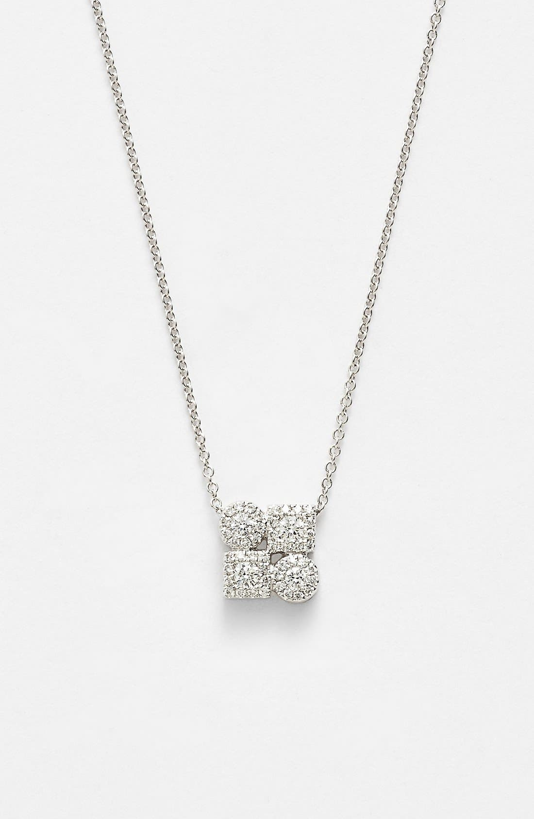 Alternate Image 1 Selected - Bony Levy 'Maya' Diamond Pendant Necklace (Nordstrom Exclusive)