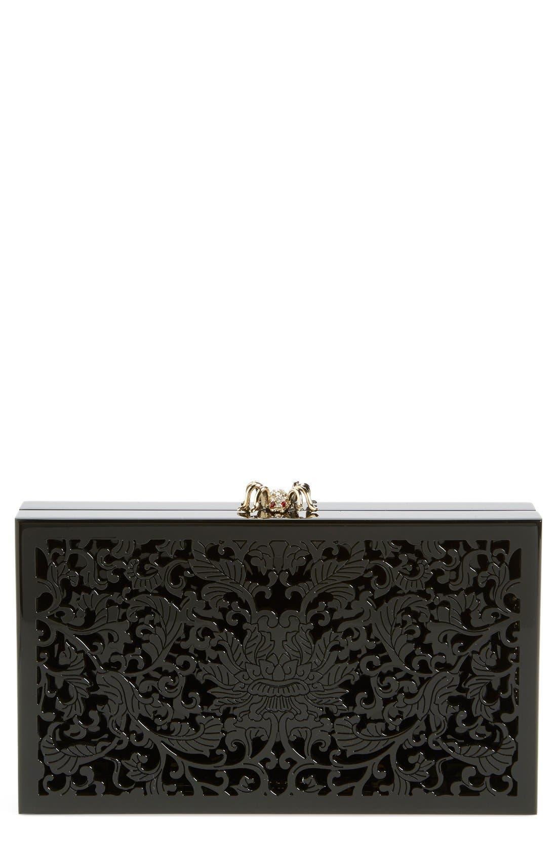 Main Image - Charlotte Olympia 'Pandora - Ornate' Clutch