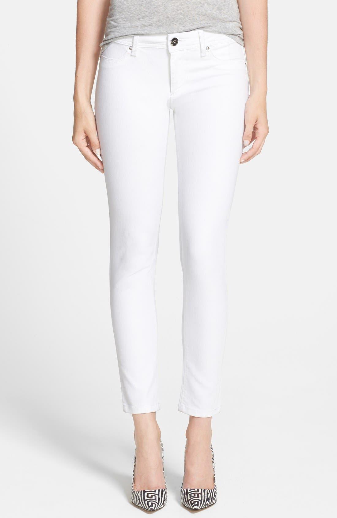 Alternate Image 1 Selected - DL1961 'Emma' Power Legging Jeans (Milk)