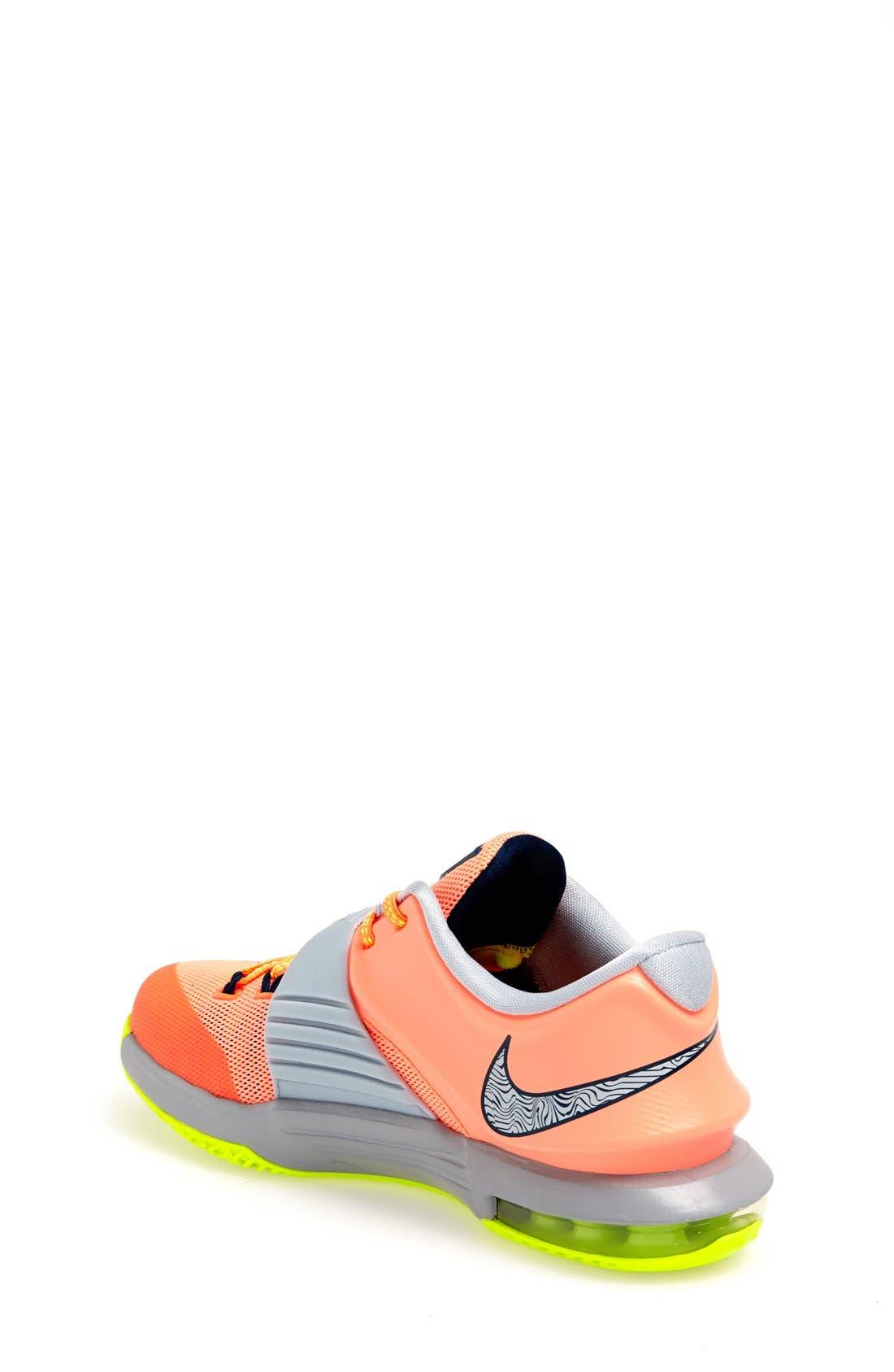 Alternate Image 2  - Nike 'KD VII' Basketball Shoe (Big Kid)