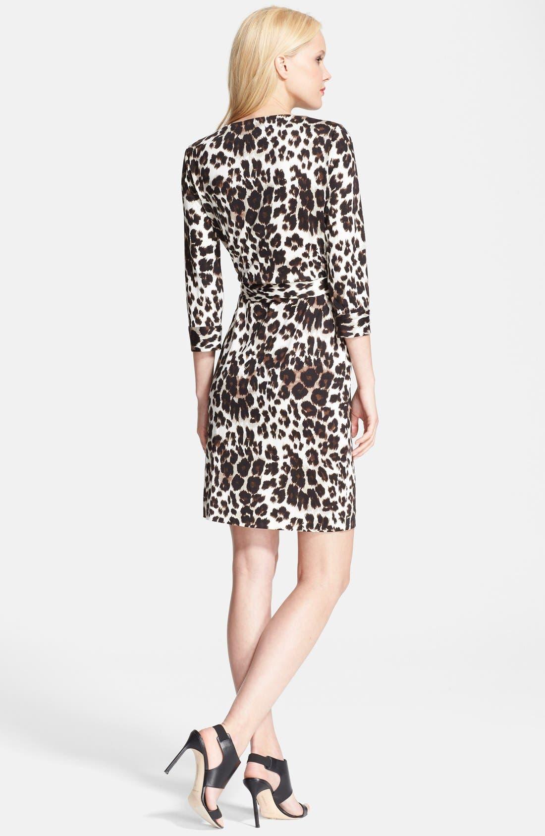 Alternate Image 2  - Diane von Furstenberg 'New Julian Two' Silk Wrap Dress