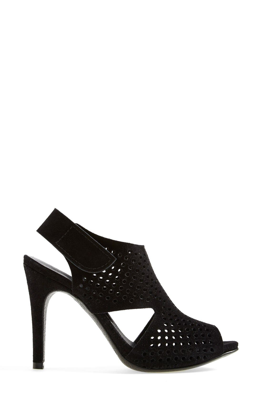 Alternate Image 5  - Pedro Garcia 'Samara' Perforated Open Toe Sandal (Women)