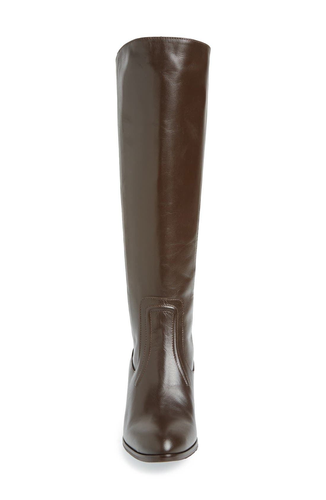 Alternate Image 3  - Charles David 'Ramu' Leather Riding Boot (Women)