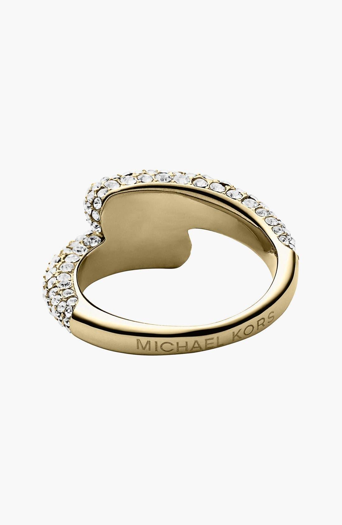 Alternate Image 2  - Michael Kors Pavé Wrap Ring