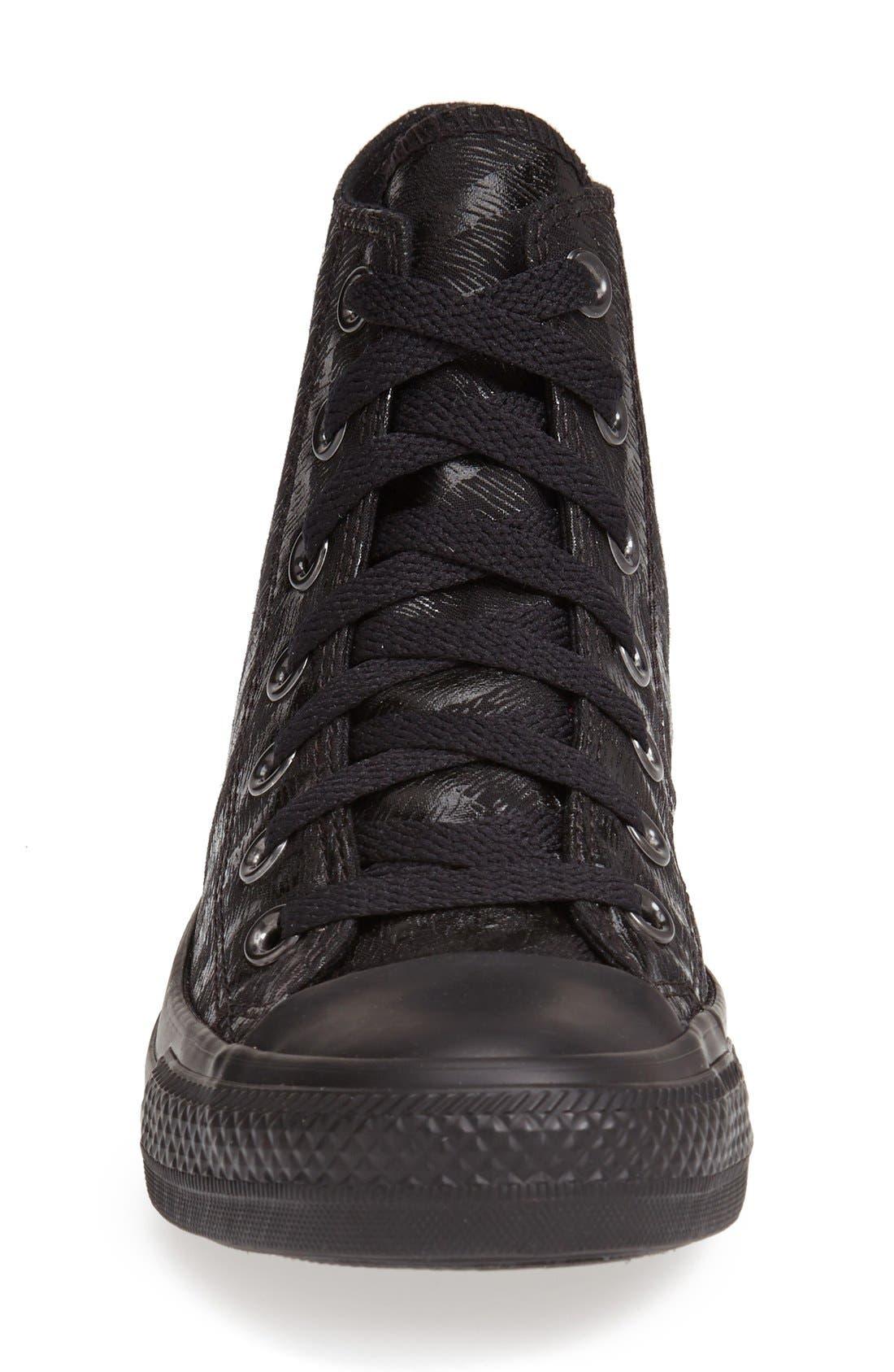 Alternate Image 3  - Converse Chuck Taylor® All Star® 'Tri Zip' High Top Sneaker (Women)