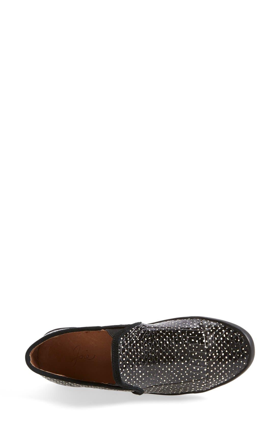 Alternate Image 4  - Joie 'Kidmore' Leather Sneaker (Women)