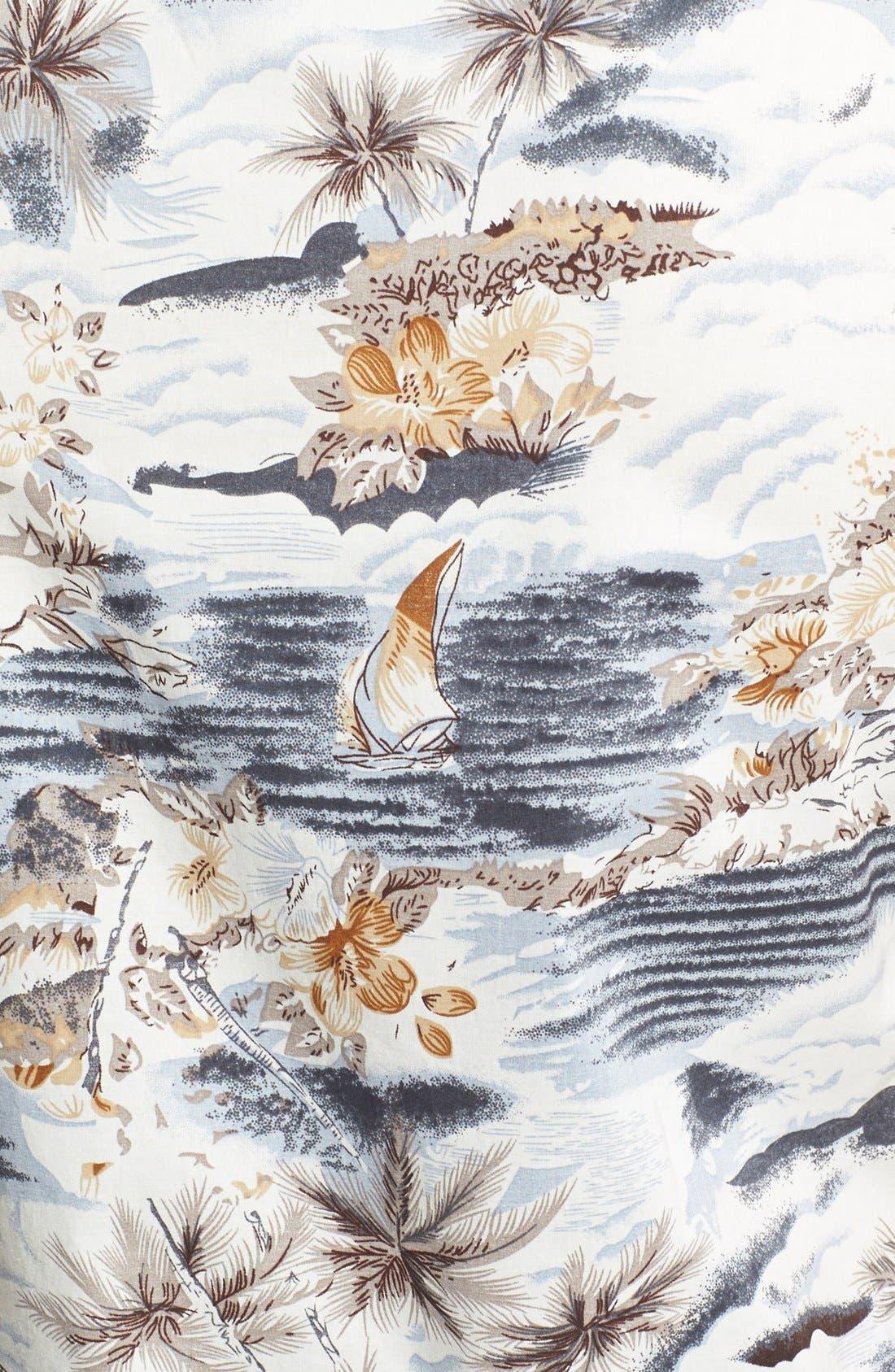 Alternate Image 3  - 7 Diamonds 'Legend' Trim Fit Short Sleeve Print Woven Shirt