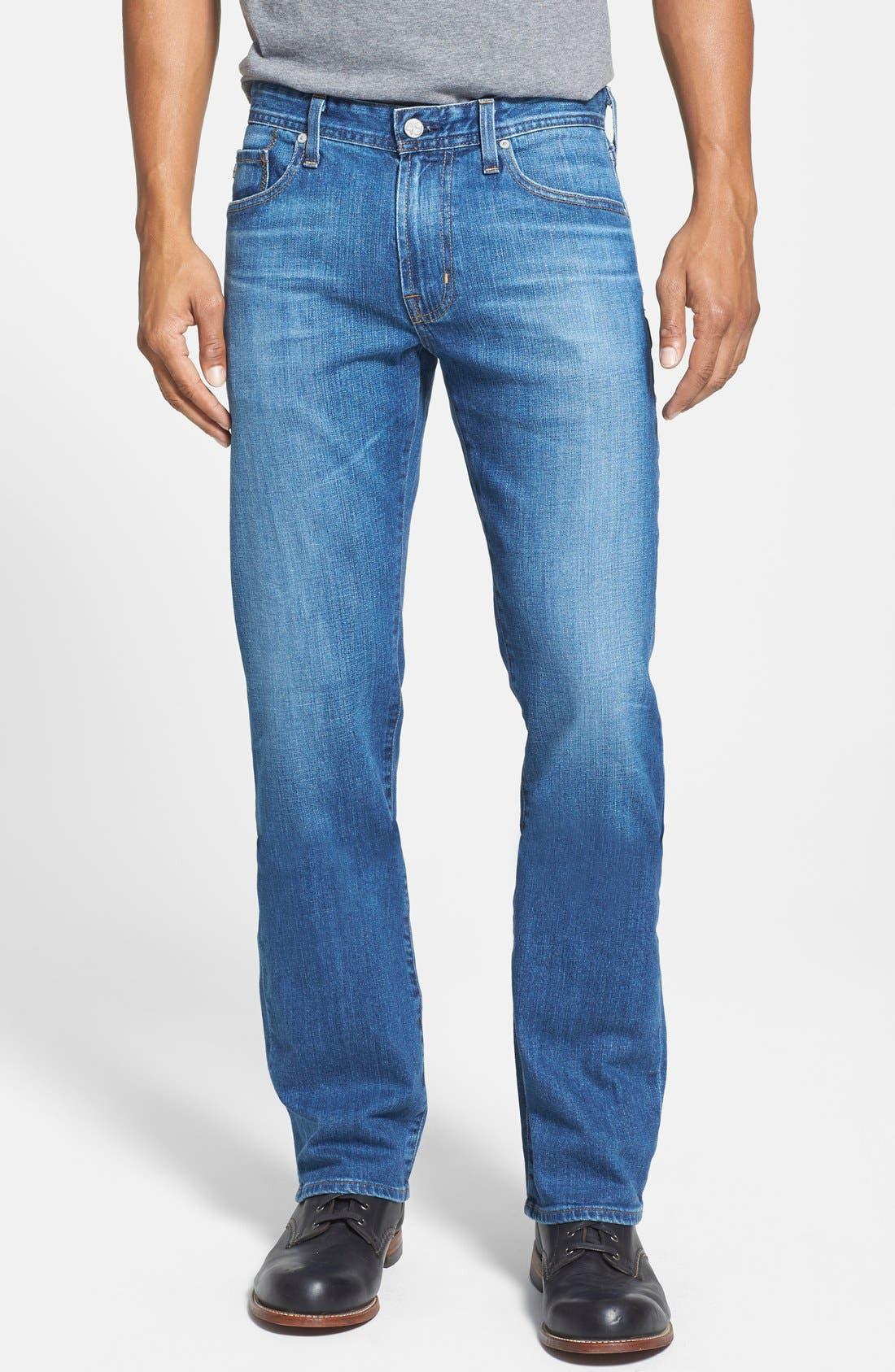 Alternate Image 1 Selected - AG Jeans 'Protégé' Straight Leg Jeans (Eleven Year Wildcraft)
