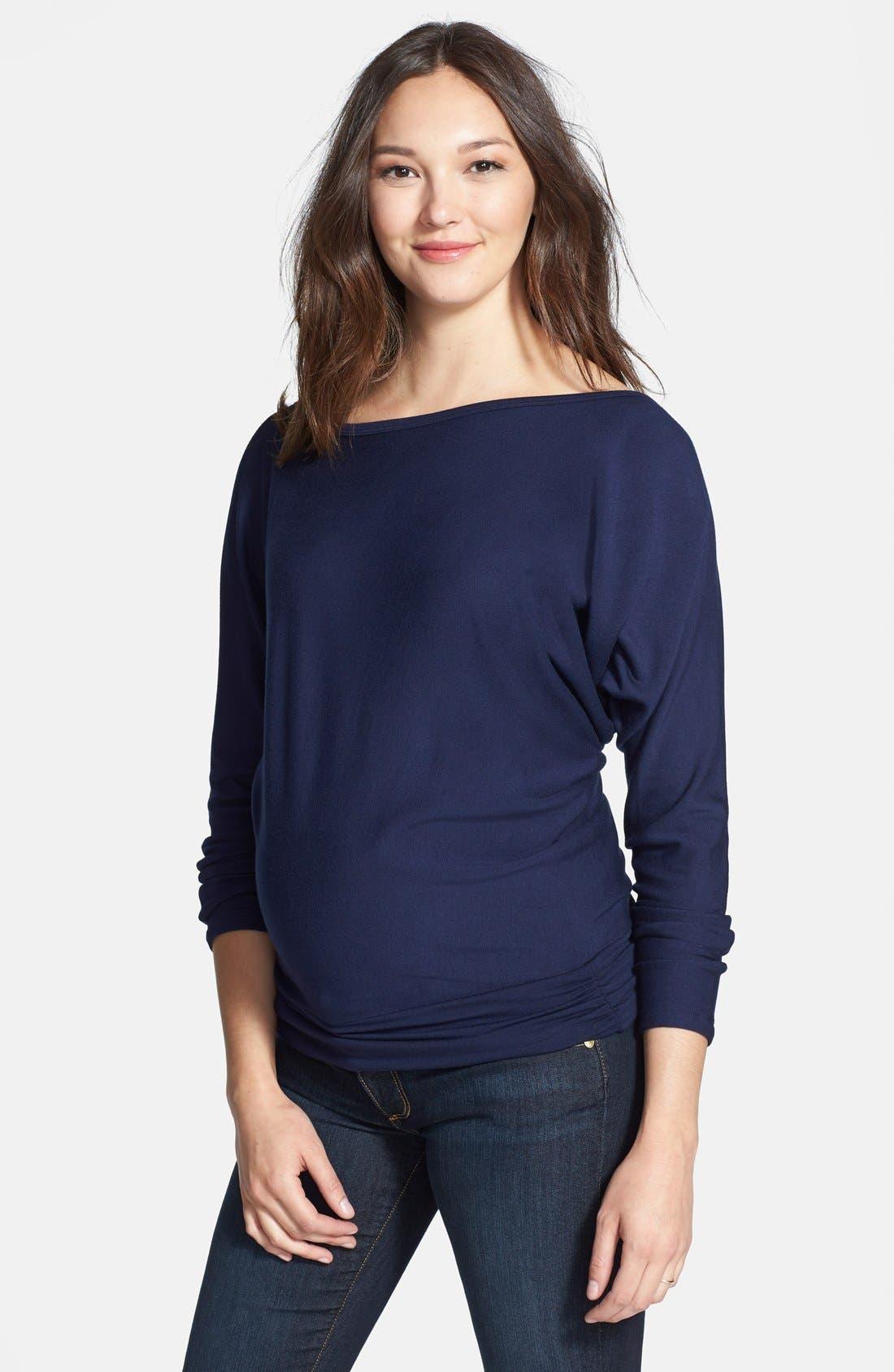 Main Image - Tart Maternity 'Yvonne' Long Sleeve Maternity Sweatshirt