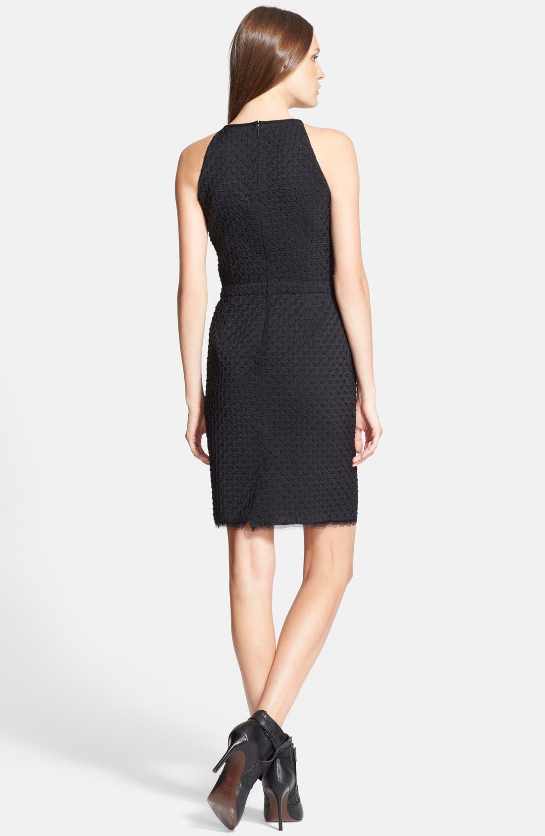 Alternate Image 2  - Tory Burch 'Ivana' Corded Dot Sheath Dress
