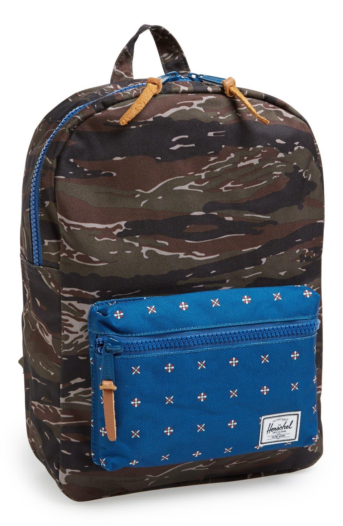 Main Image - Herschel Supply Co. 'Settlement' Tiger Camo Backpack (Boys)