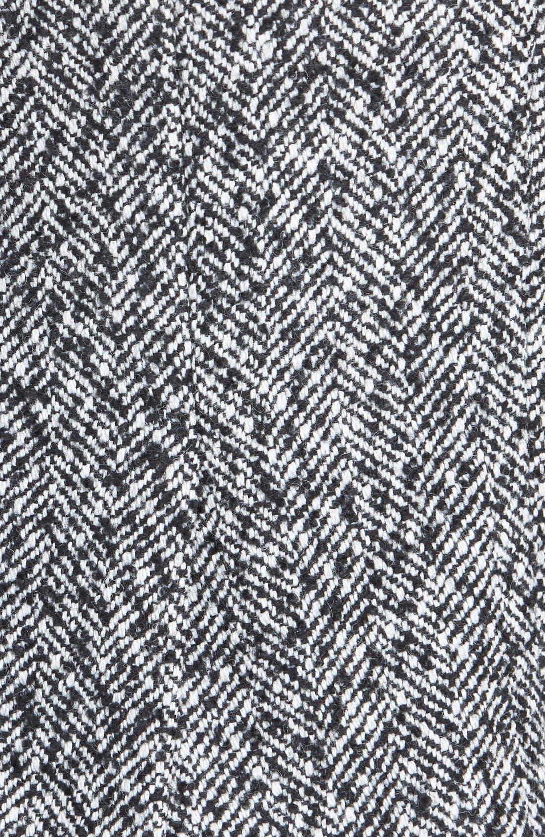 Alternate Image 3  - Pink Tartan Herringbone Pencil Skirt