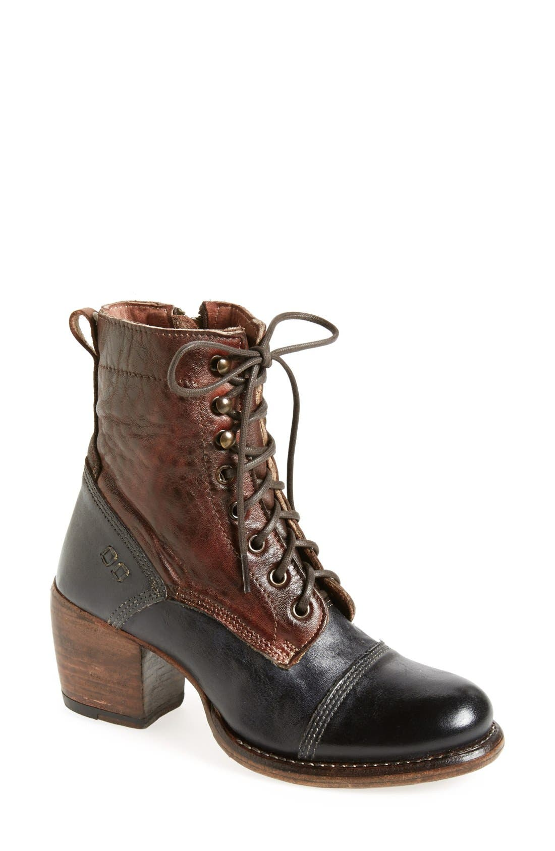 Alternate Image 1 Selected - Bed Stu 'Oath' Two-Tone Cap Toe Boot (Women)