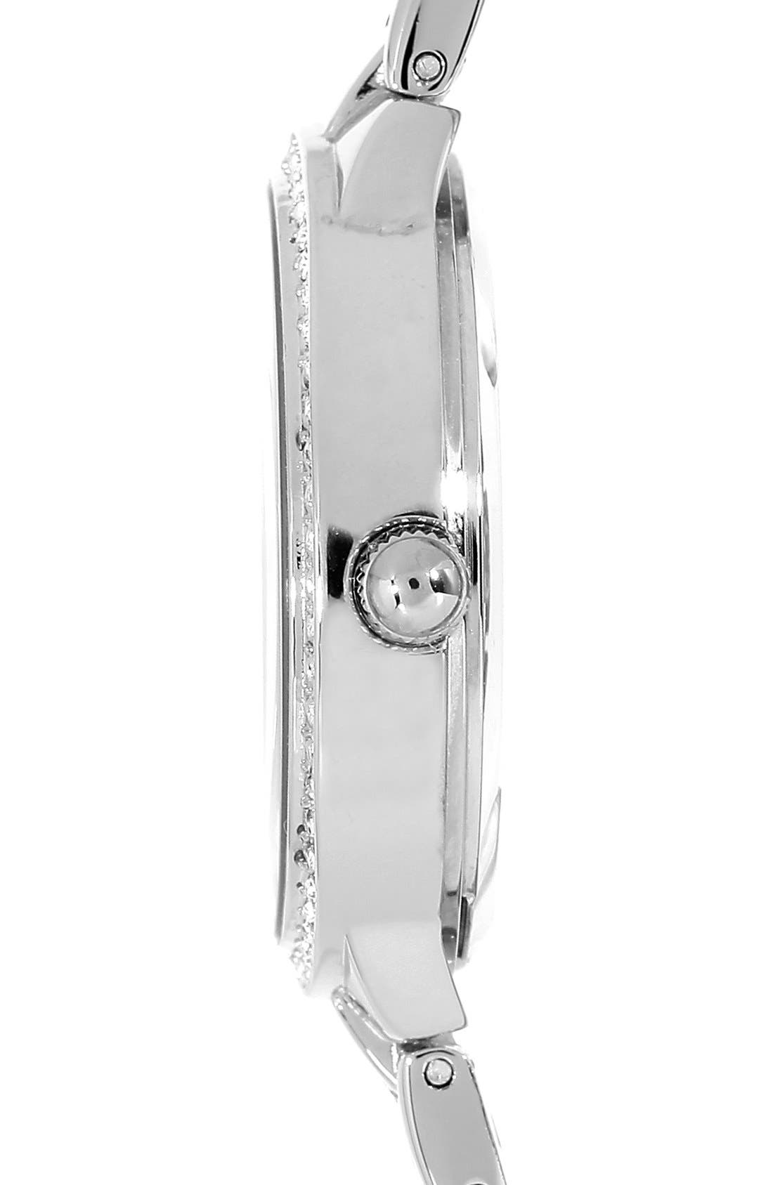 Alternate Image 3  - Anne Klein Round Bracelet Watch, 39mm