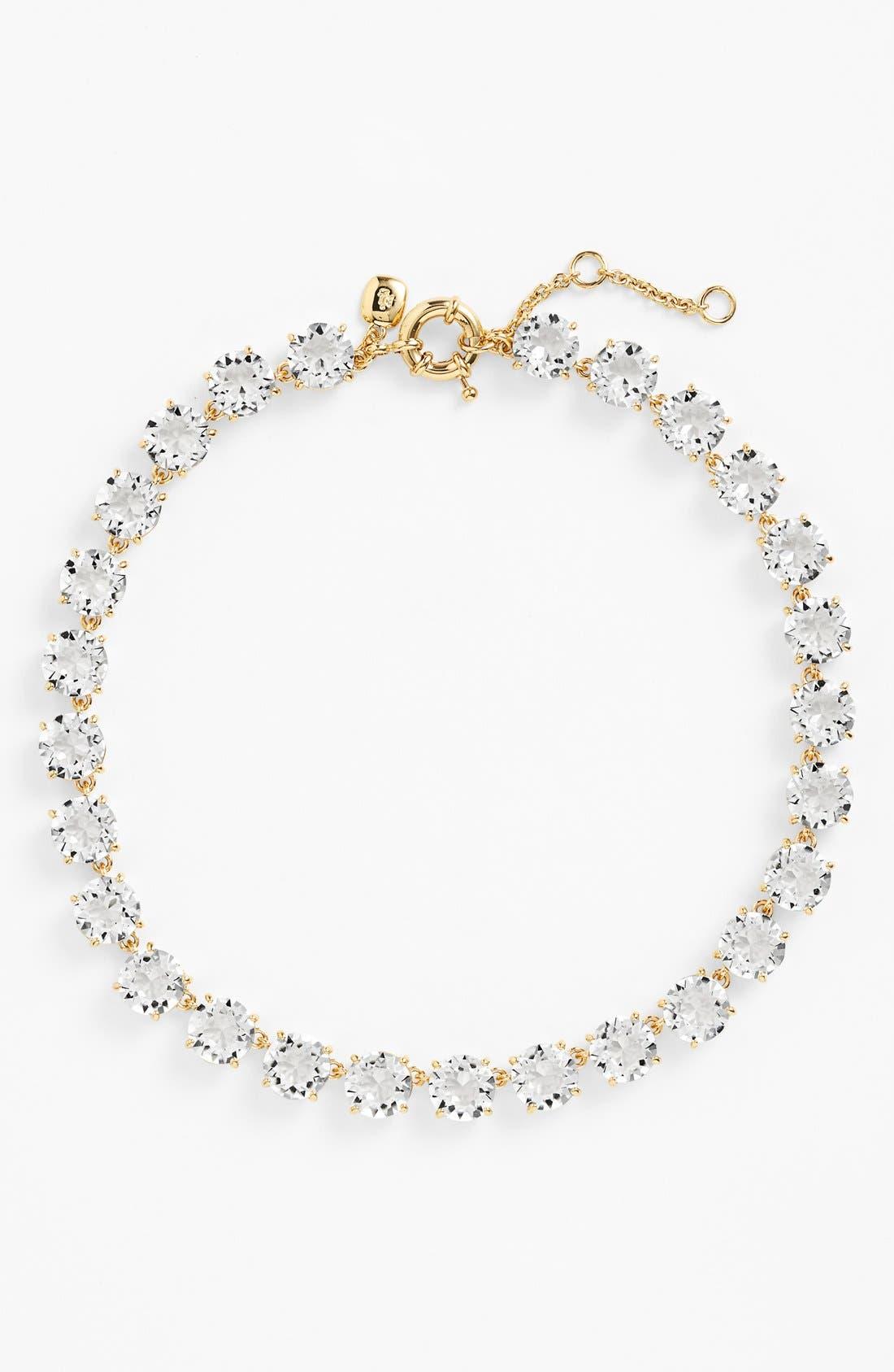 Alternate Image 2  - Lauren Ralph Lauren 'Signature Collection' Crystal Collar Necklace