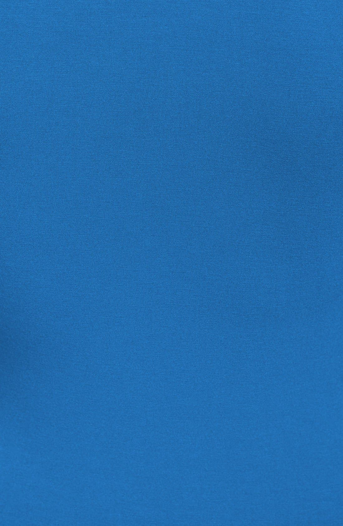 Alternate Image 3  - Topshop Contrast Trim Jersey Midi Dress (Nordstrom Exclusive)