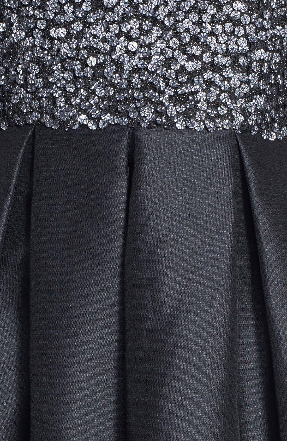 Alternate Image 4  - ML Monique Lhuillier Embellished Fit & Flare Dress