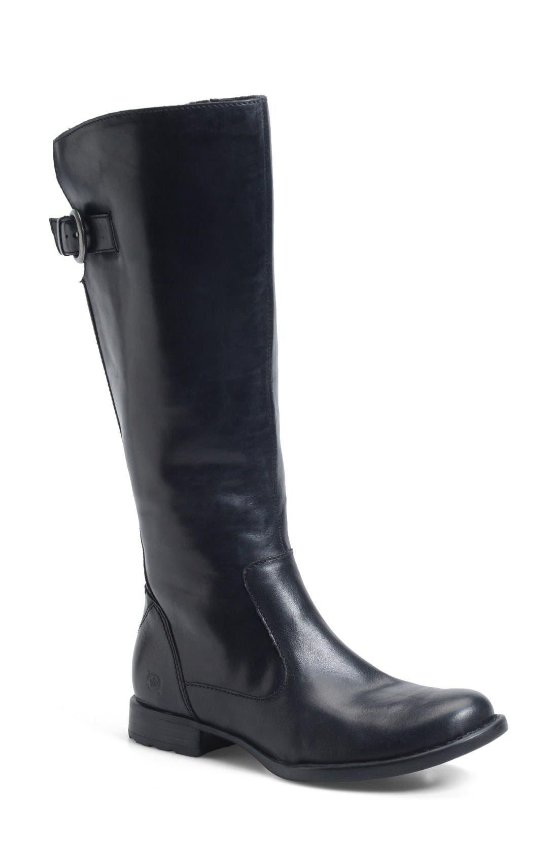 Alternate Image 1 Selected - Børn 'Lottie' Round Toe Boot (Women)