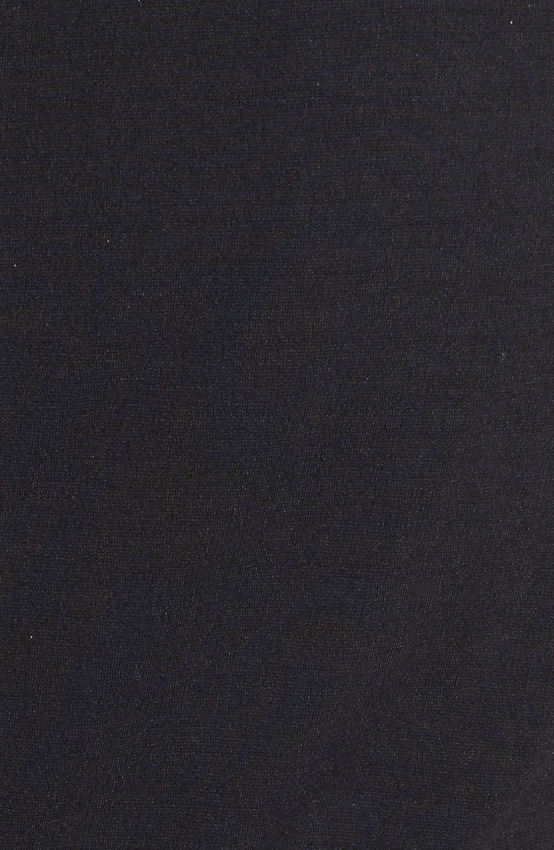 Alternate Image 4  - ERIN erin fetherston 'Shelby' Lace Panel Ponte Sheath Dress