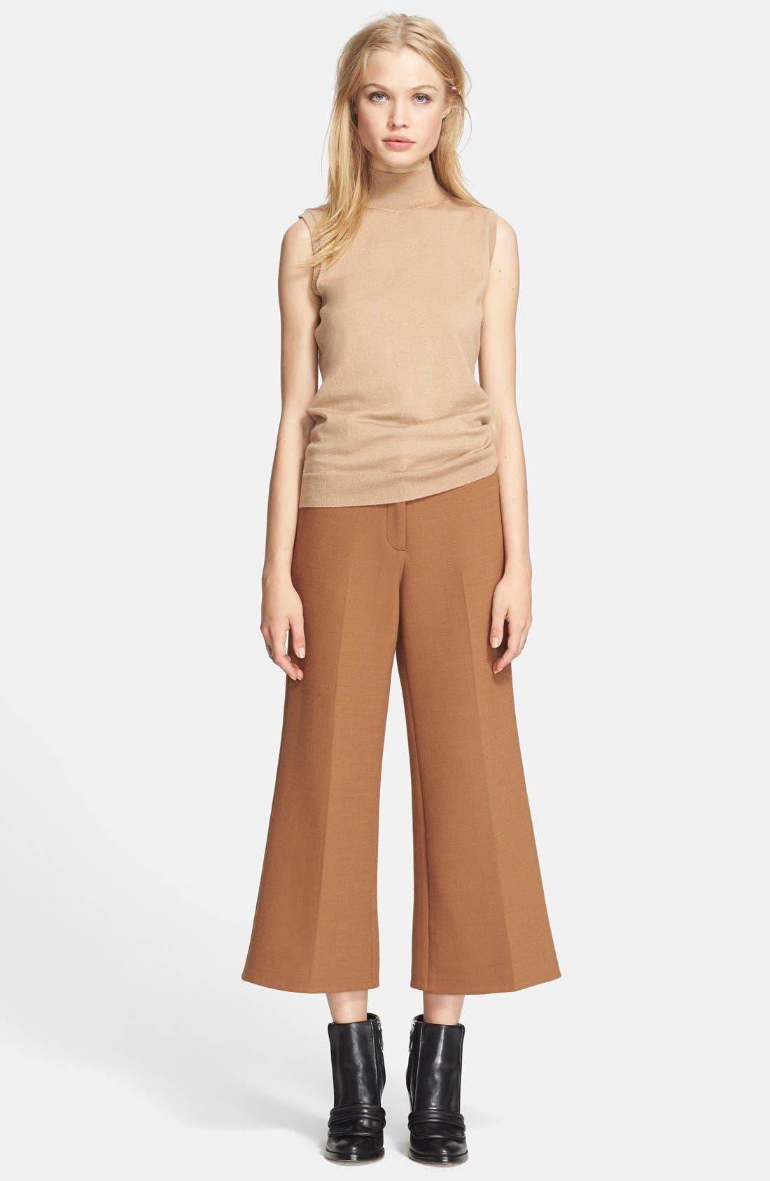Alternate Image 4  - Theory Sleeveless Cashmere Blend Sweater