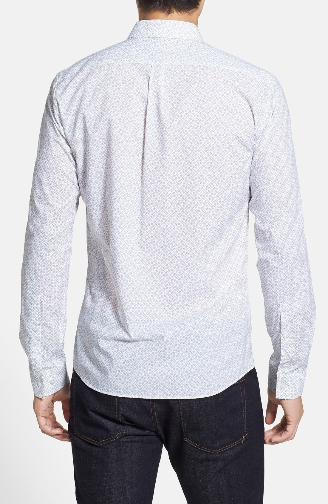 Alternate Image 2  - HUGO 'Ero' Slim Fit Sport Shirt