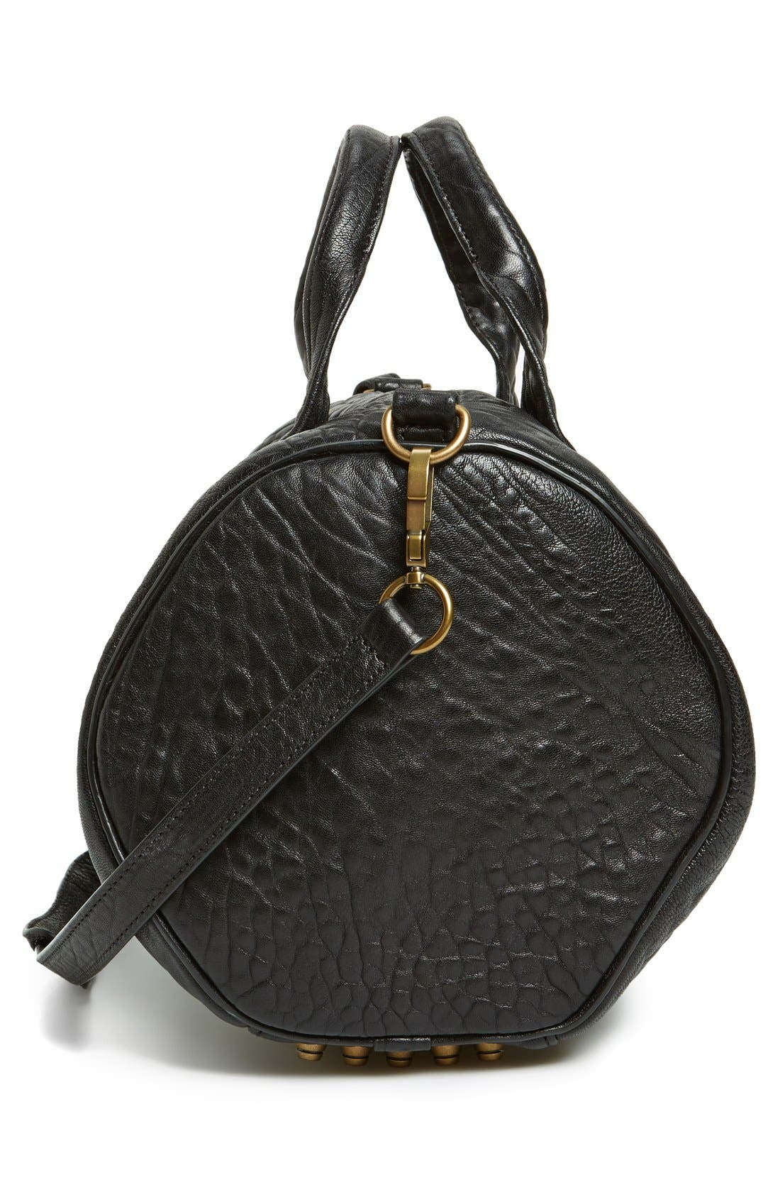 Alternate Image 5  - Alexander Wang 'Rocco - Antique Brass' Leather Satchel
