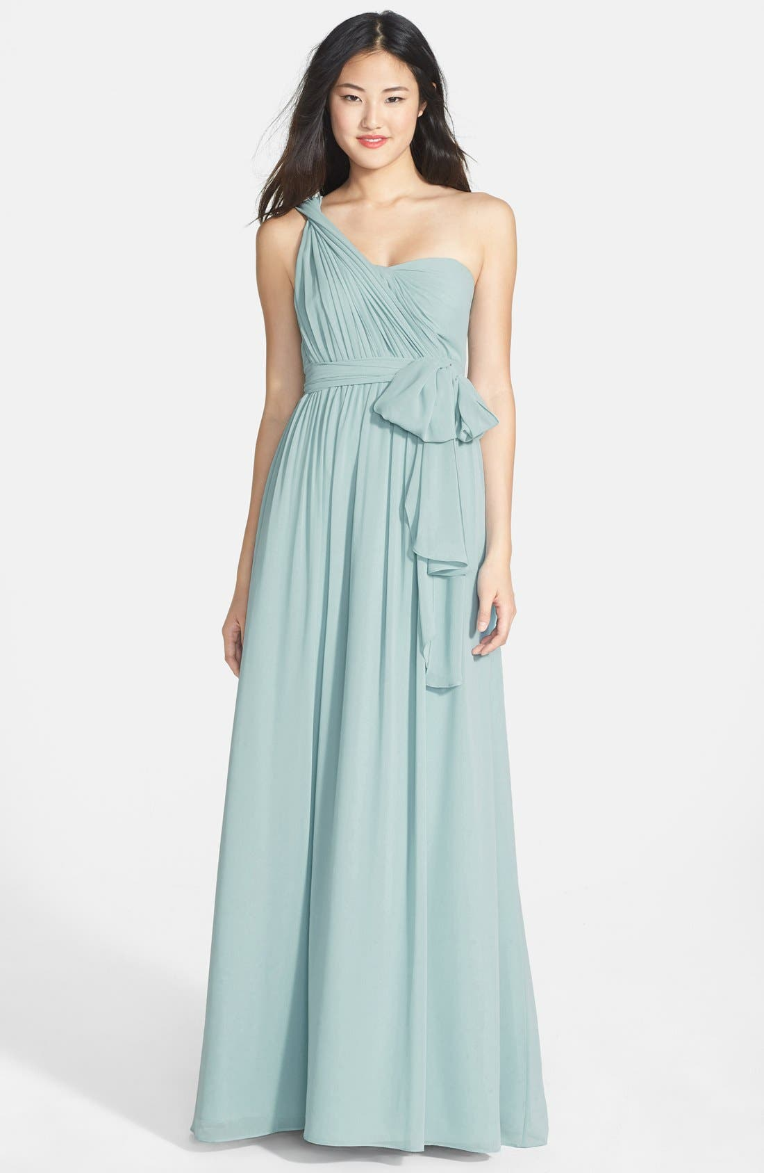 Alternate Image 7  - Jenny Yoo 'Aidan' Convertible Strapless Chiffon Gown