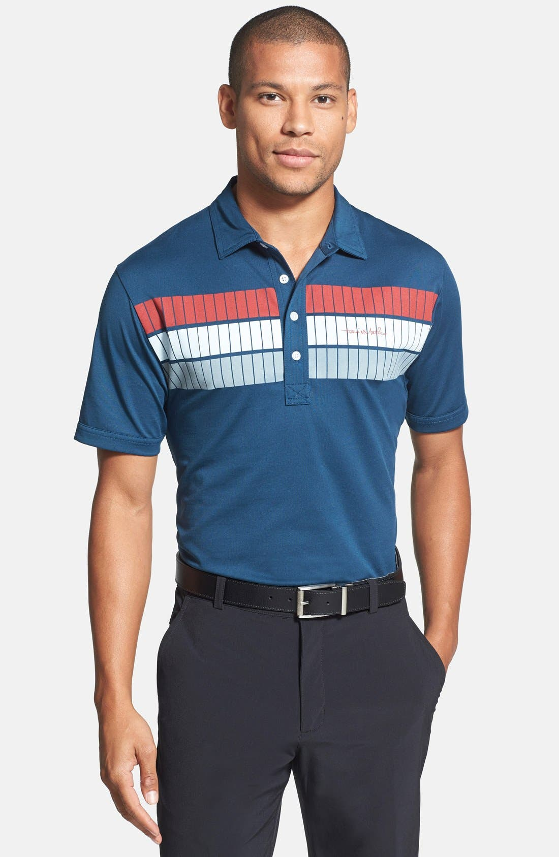 Alternate Image 1 Selected - Travis Mathew 'Lowe' Regular Fit Polo