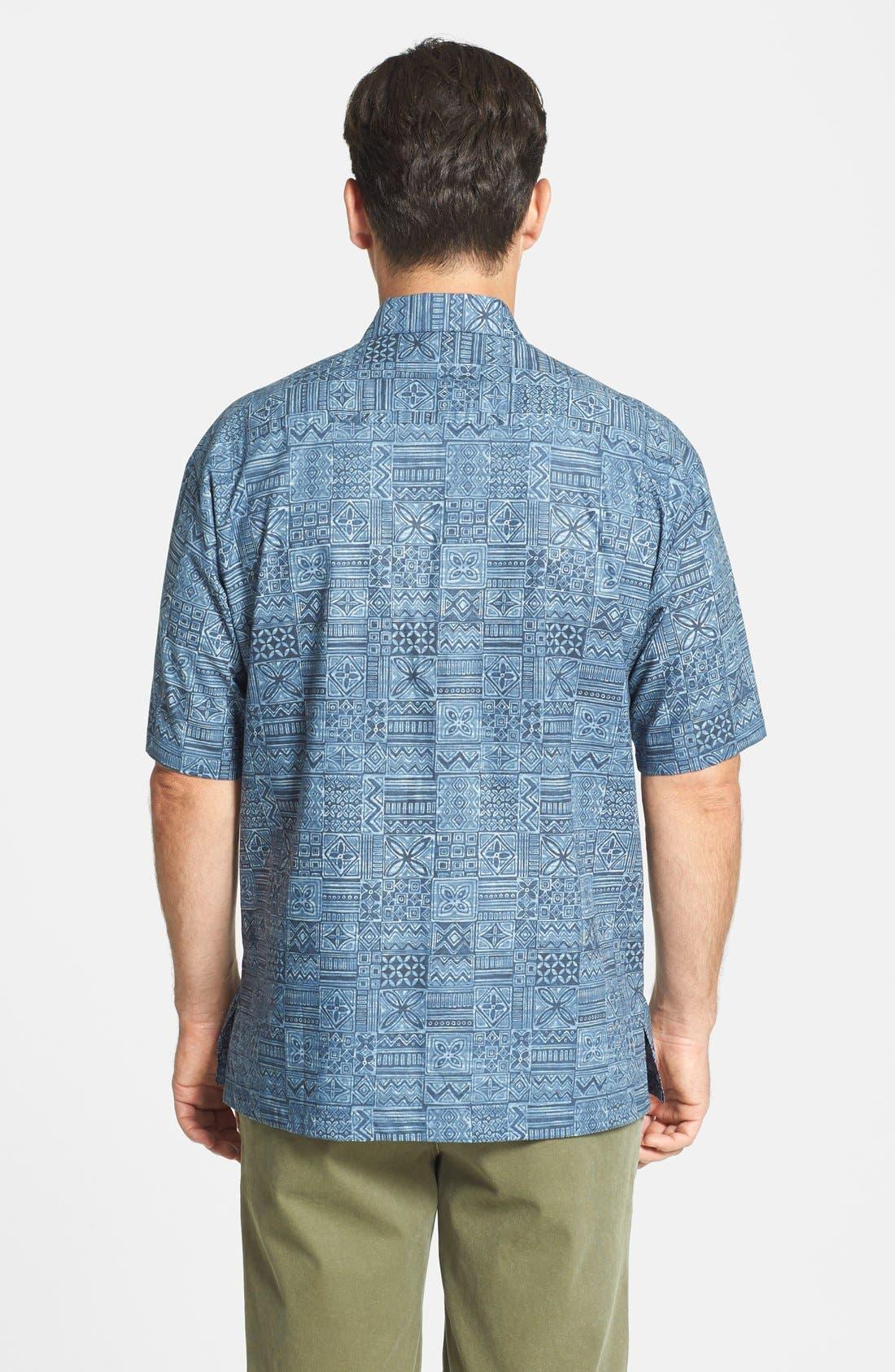 Alternate Image 2  - Tori Richard 'Tapa Maze' Cotton Lawn Campshirt