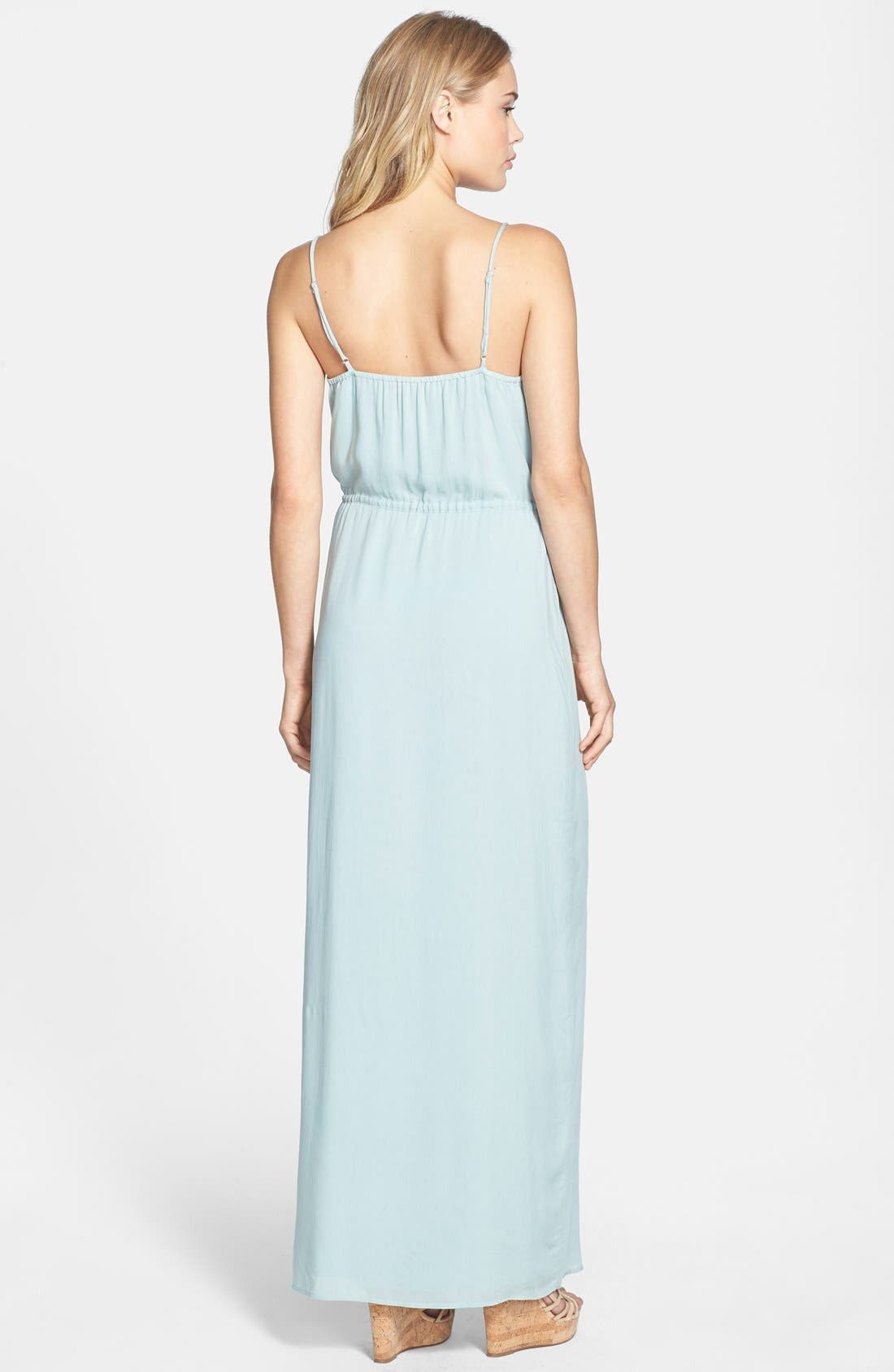 Alternate Image 2  - Paige Denim 'Nina' Button Front Maxi Dress