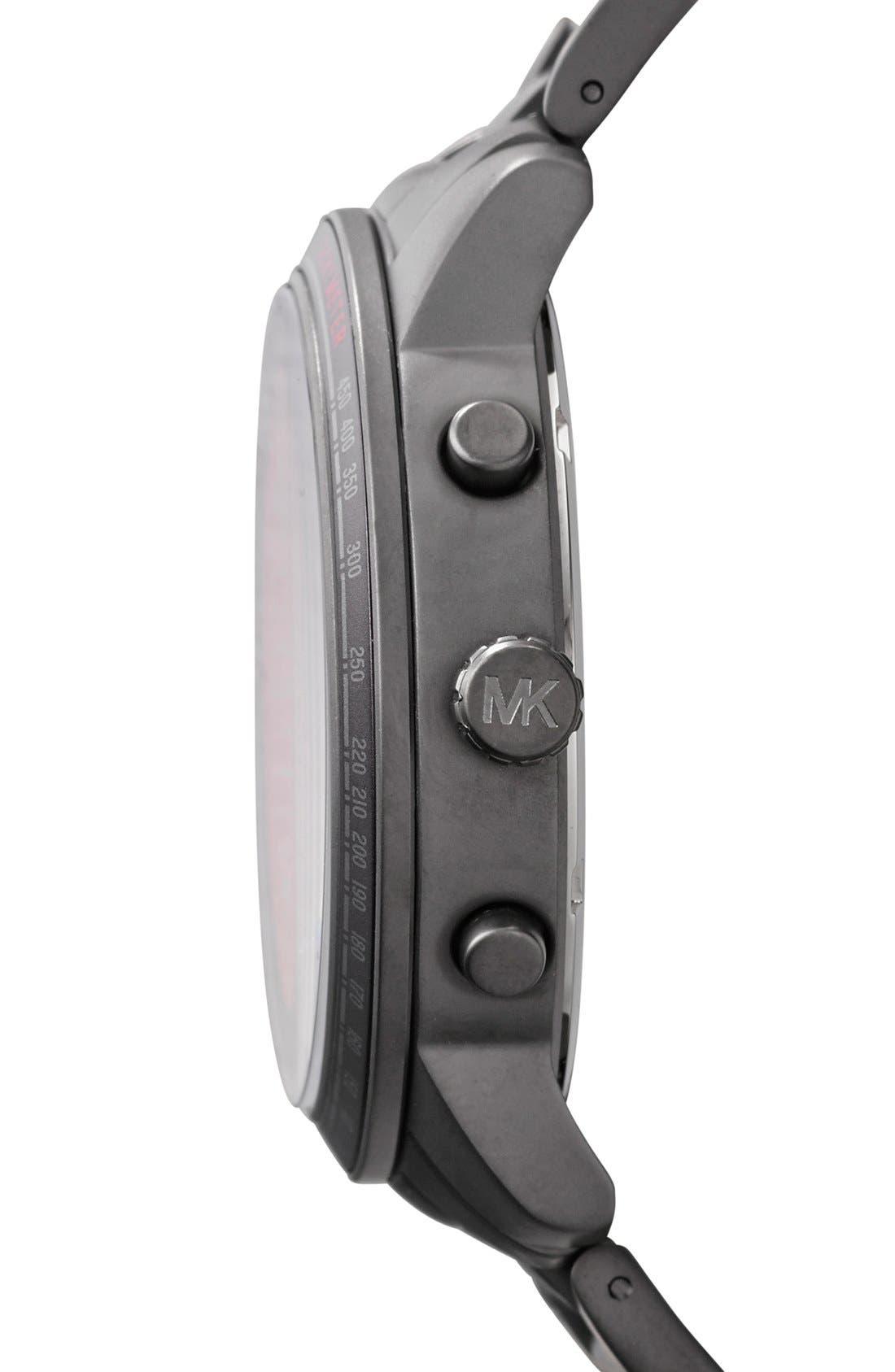 Alternate Image 3  - Michael Kors 'Granger' Chronograph Bracelet Watch, 45mm