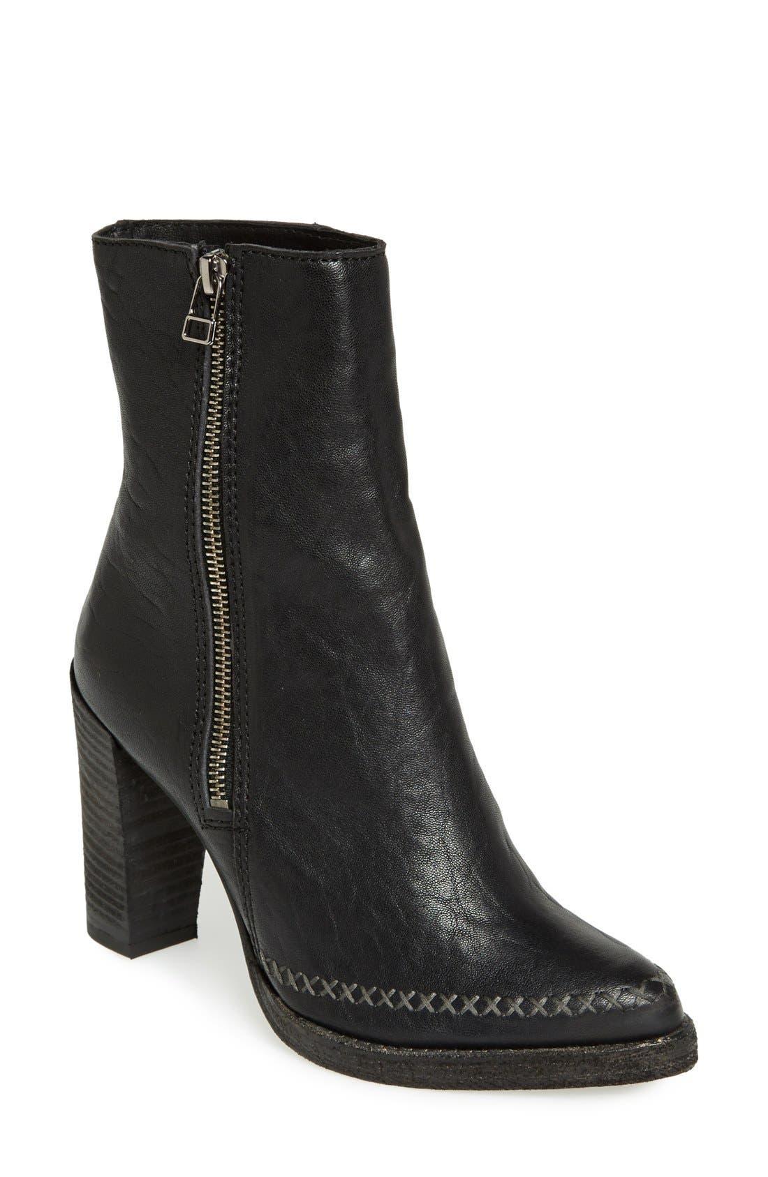 Main Image - Free People 'Baroness' Side Zip Boot (Women)