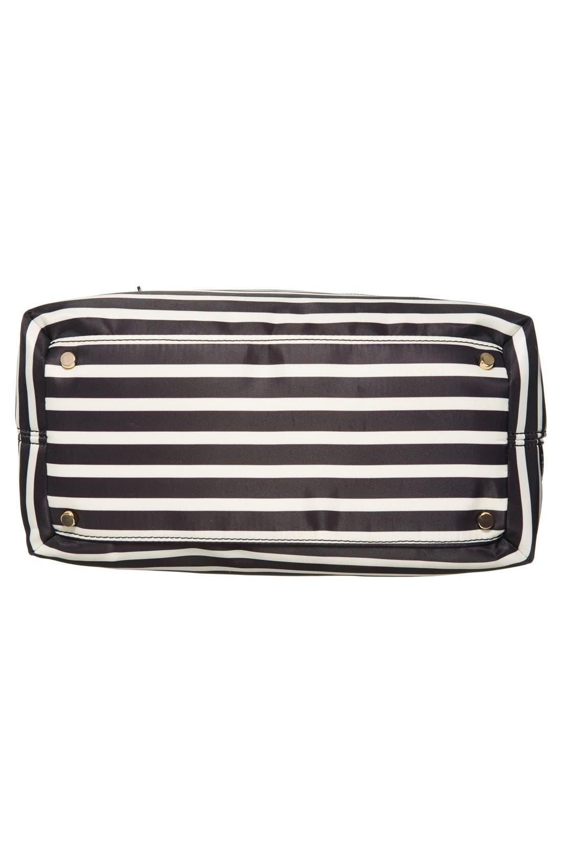 Alternate Image 6  - kate spade new york 'pattern' stripe backpack