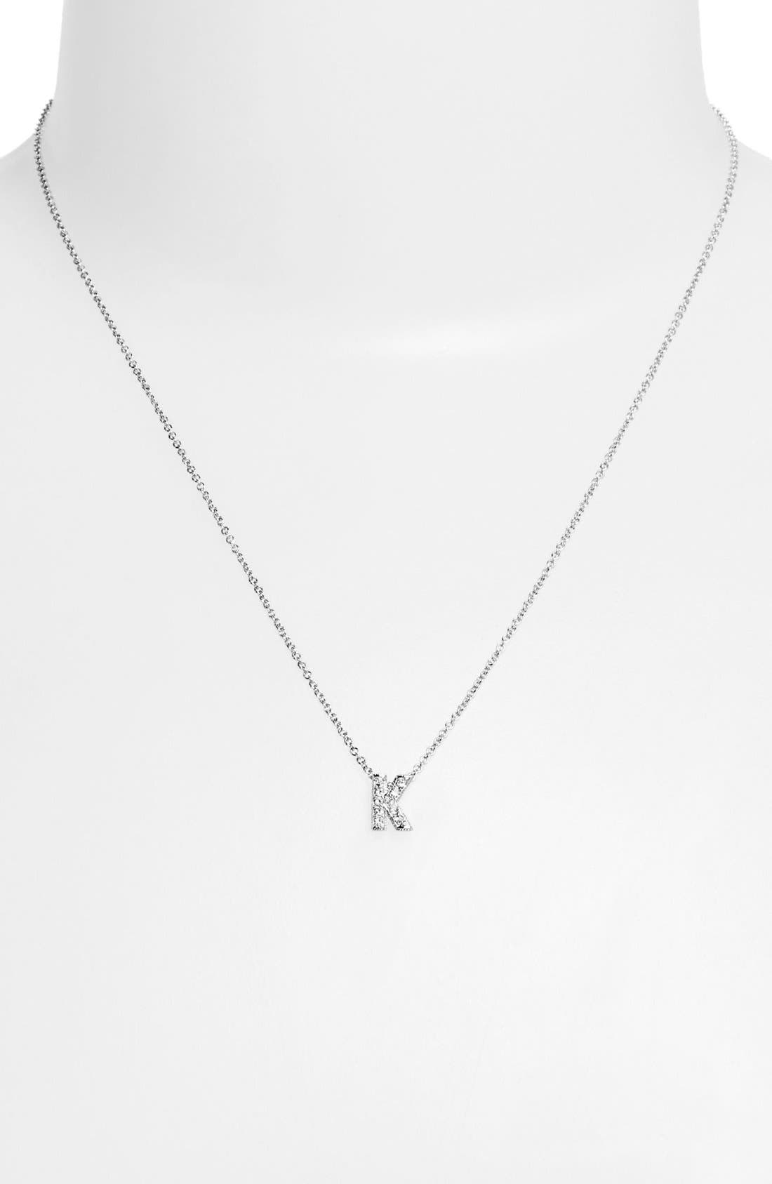 Alternate Image 1 Selected - Nadri Boxed Initial Pendant Necklace