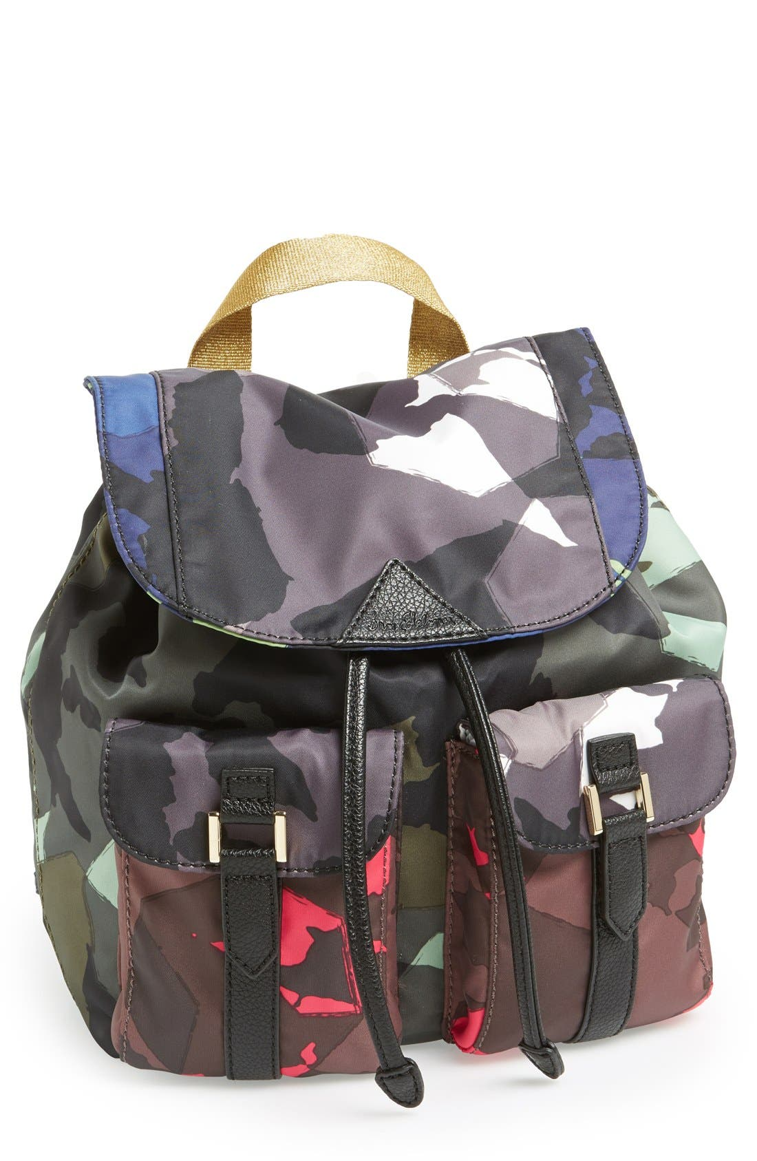 Alternate Image 1 Selected - Sam Edelman 'Large' Nylon Backpack