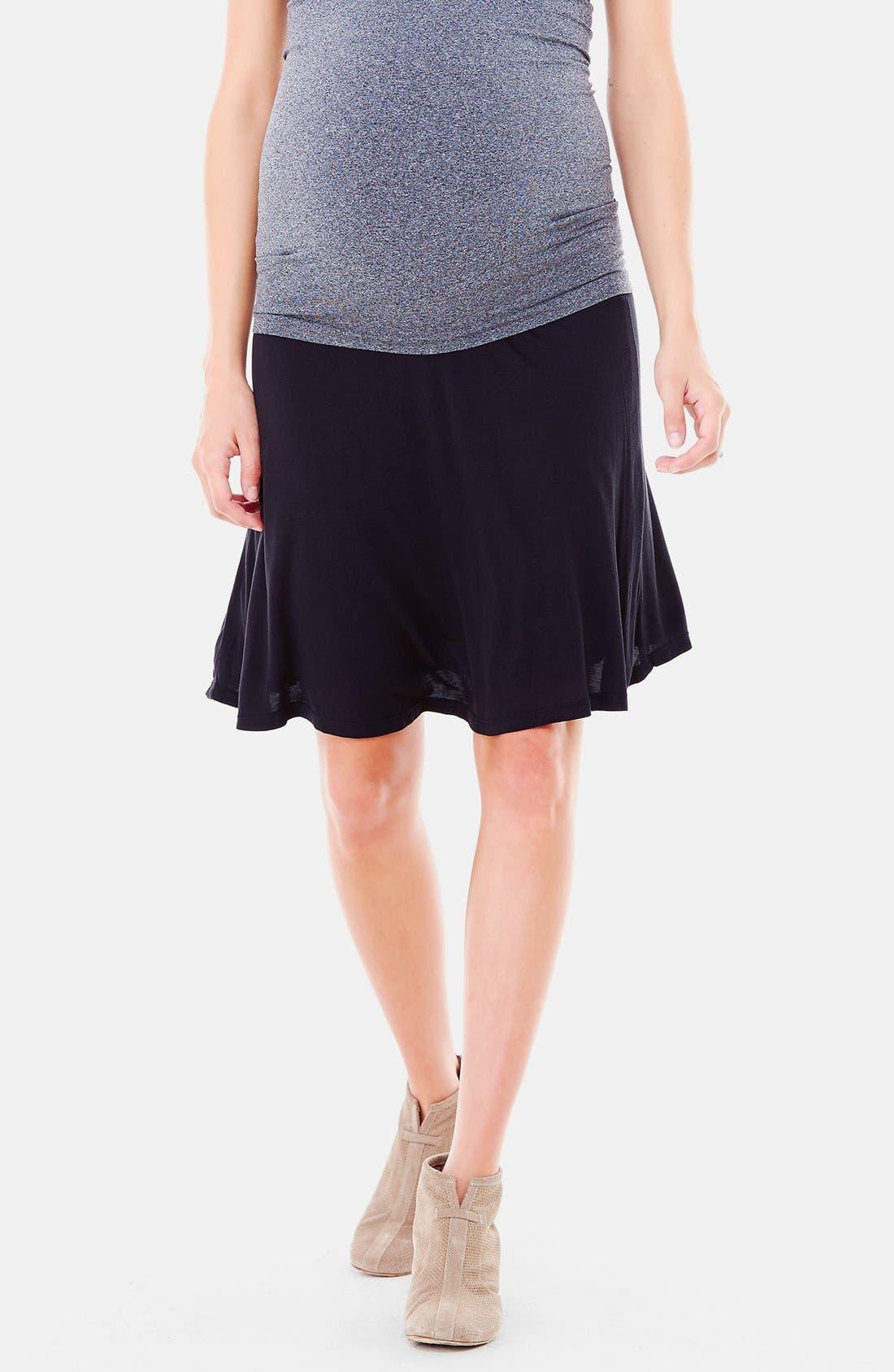 Alternate Image 4  - Ingrid & Isabel® 'Flowy' Maternity Skirt