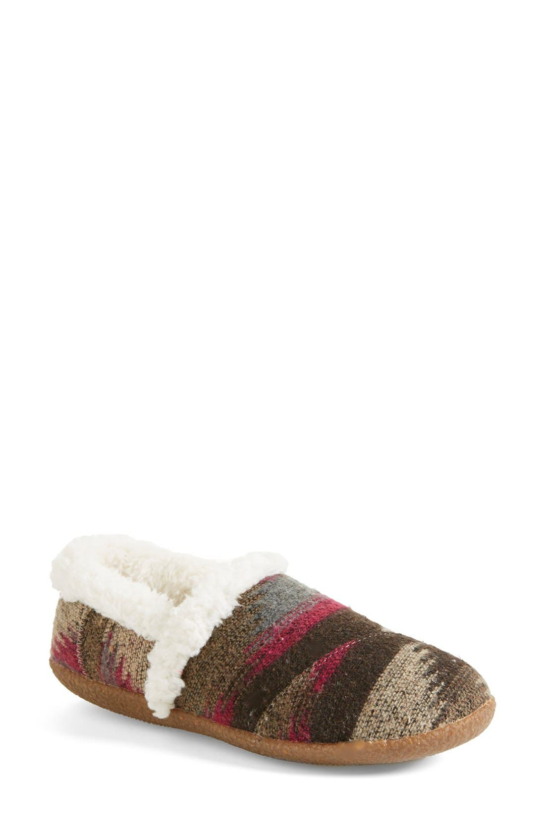 Alternate Image 1 Selected - TOMS 'Classic - Wool' Slippers (Women)