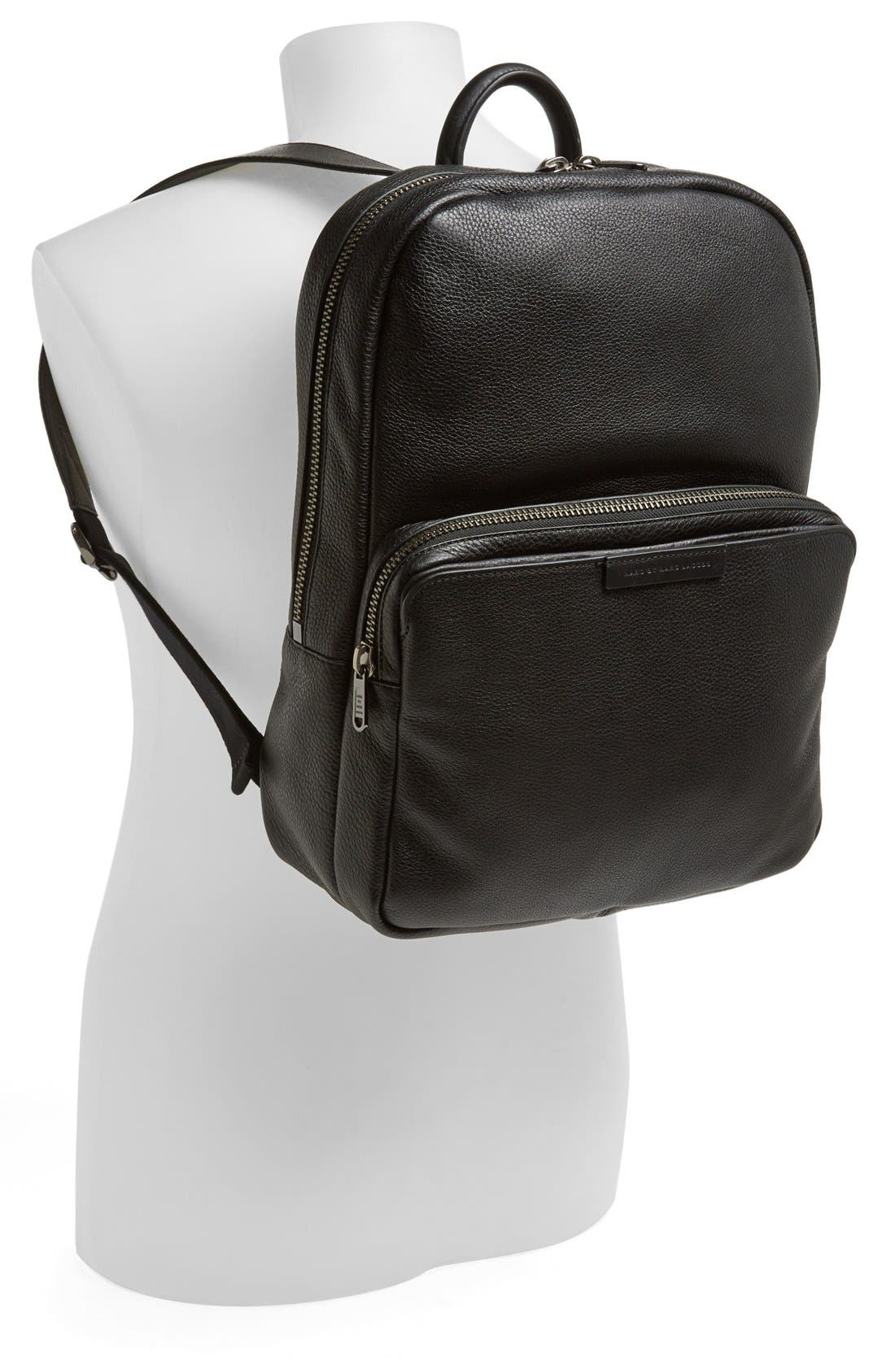 Alternate Image 2  - MARC BY MARC JACOBS 'Classic' Leather Backpack