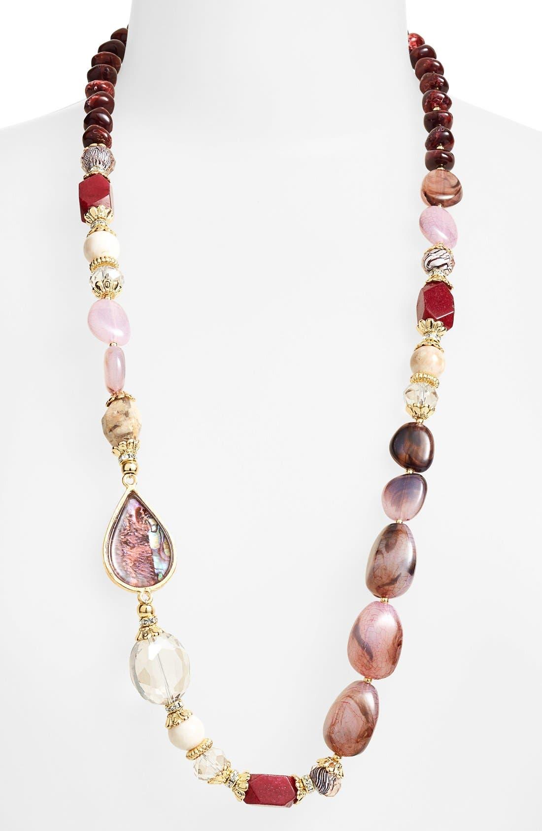 Main Image - Sara Bella Bead Necklace