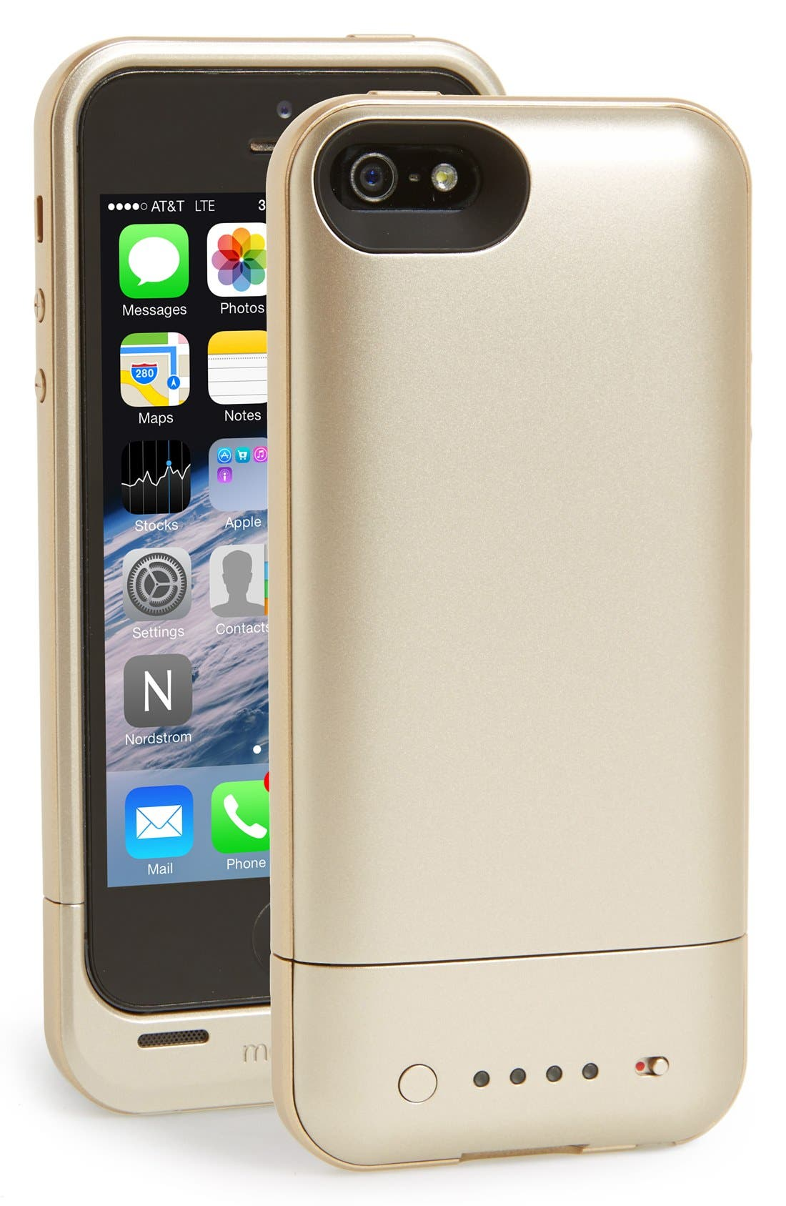 Alternate Image 1 Selected - mophie 'juice pack air' iPhone 5 & 5s charging case