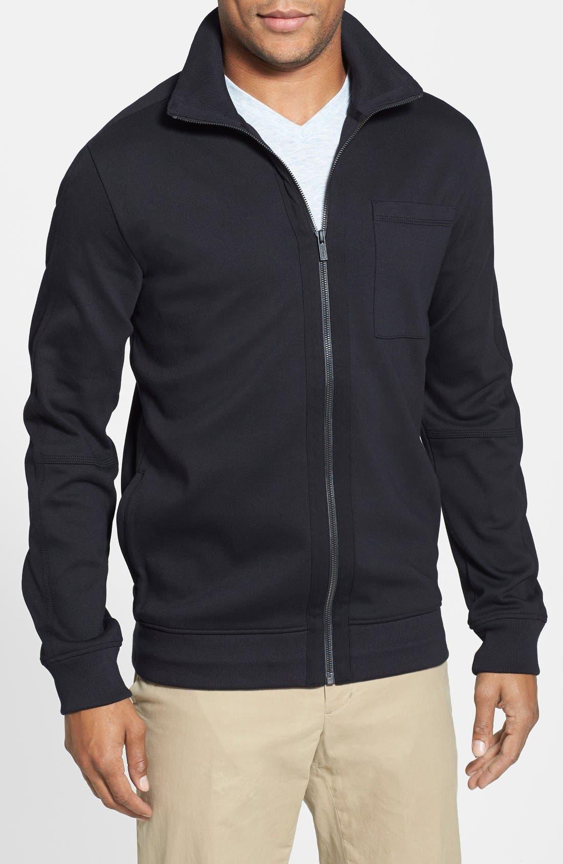 Alternate Image 1 Selected - HUGO 'Dimon' Mock Neck Jacket