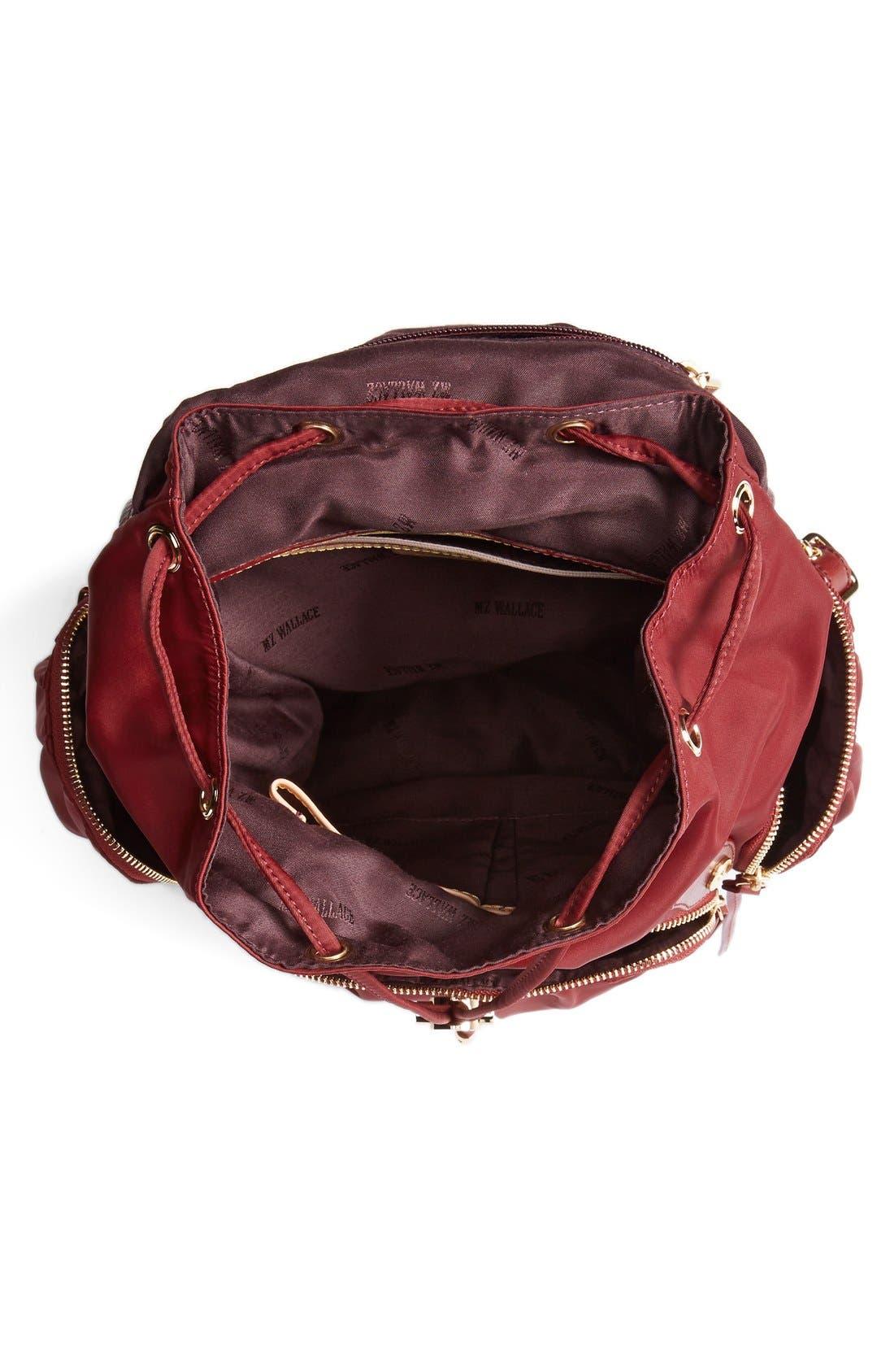 Alternate Image 3  - MZ Wallace 'Marlena' Nylon Backpack