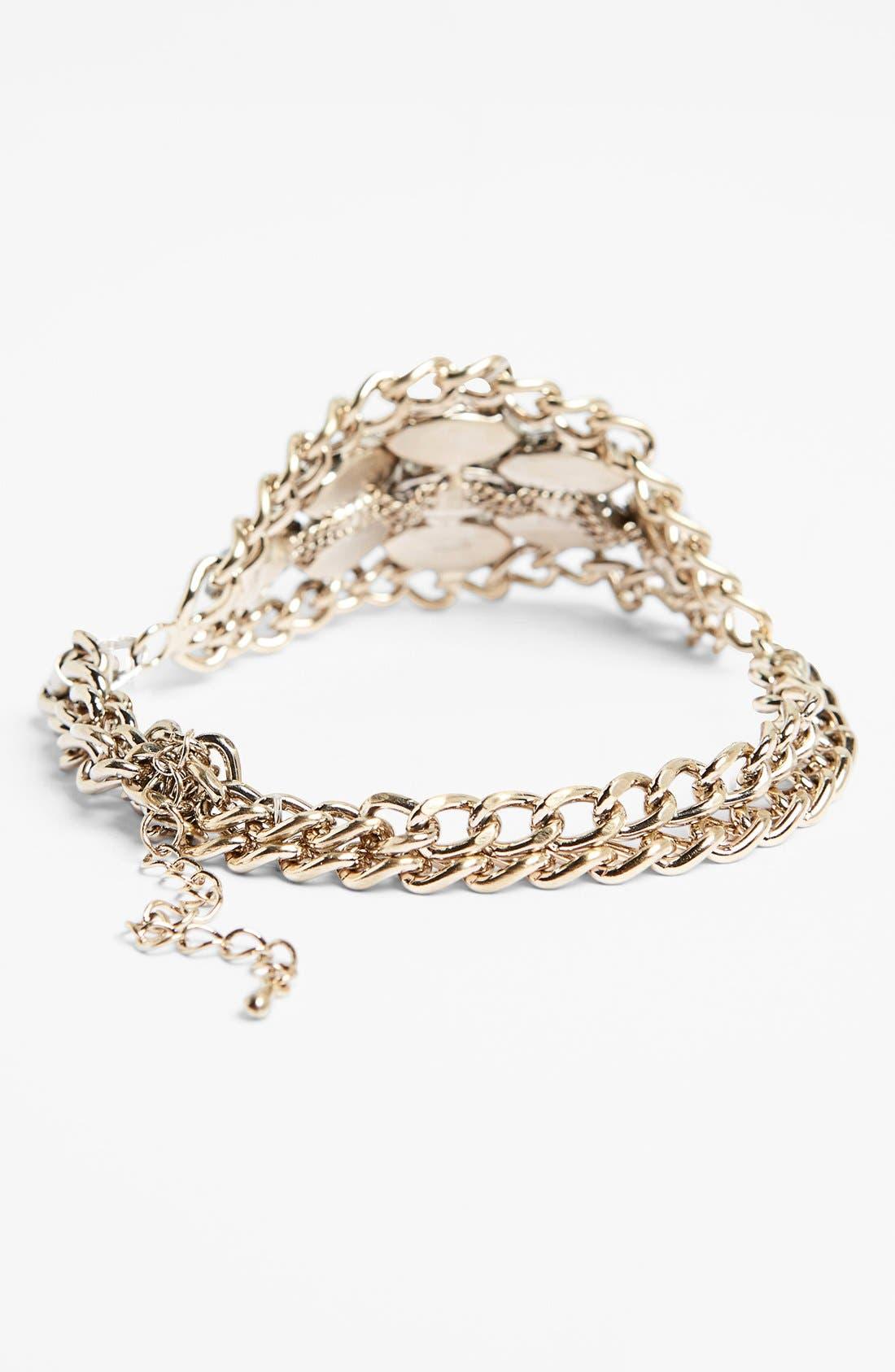 Alternate Image 3  - Tildon Crystal Hand Chain