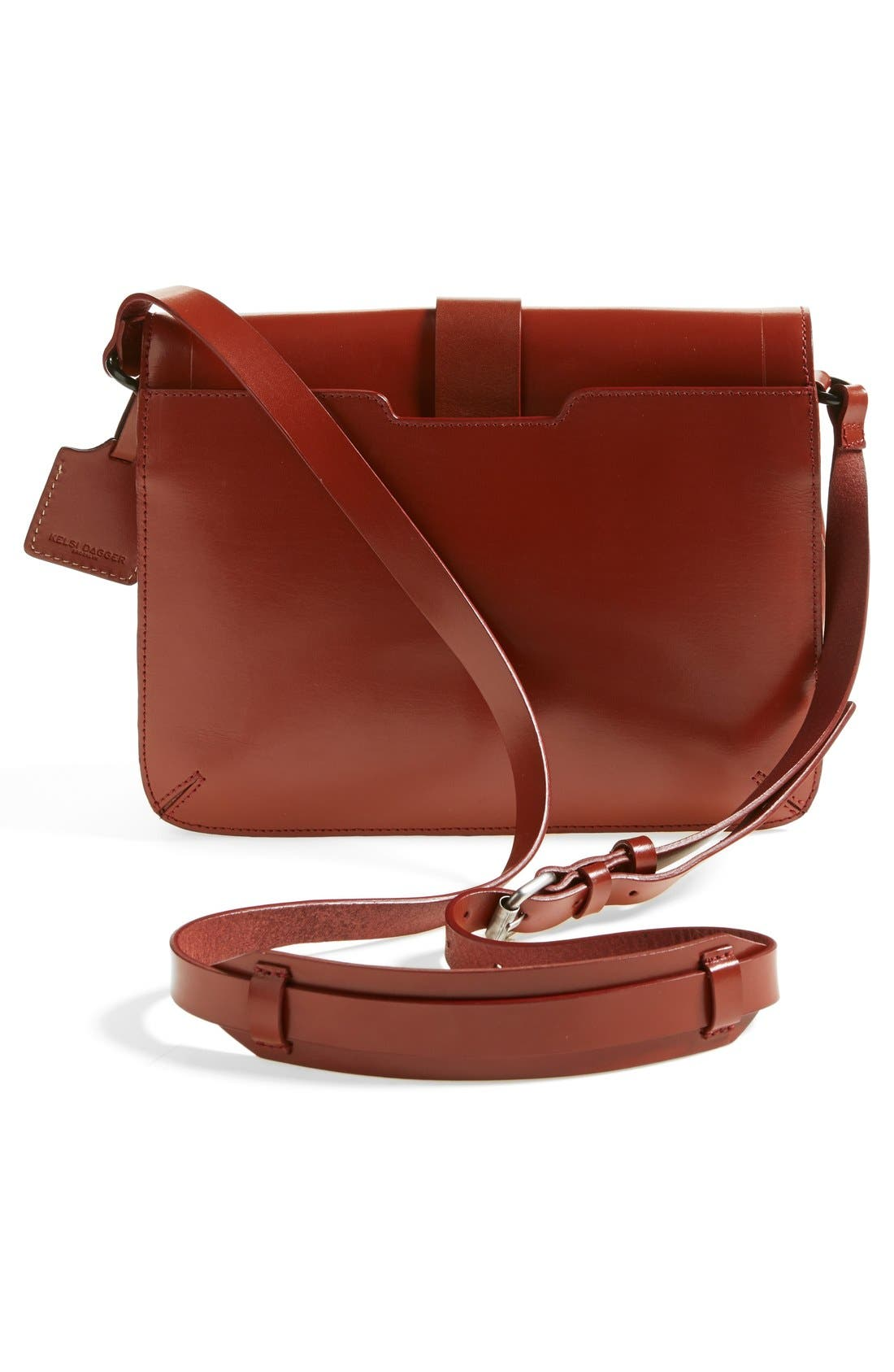 Alternate Image 4  - Kelsi Dagger Brooklyn 'Courier' Leather Crossbody Bag