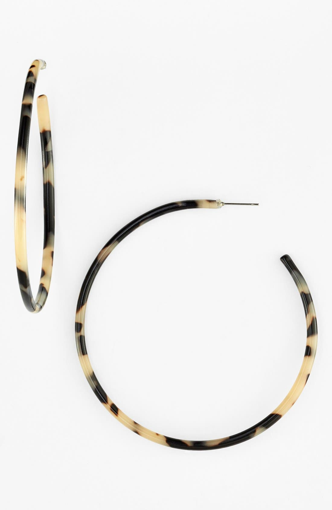L Erickson 'Jumbo' Hoop Earrings