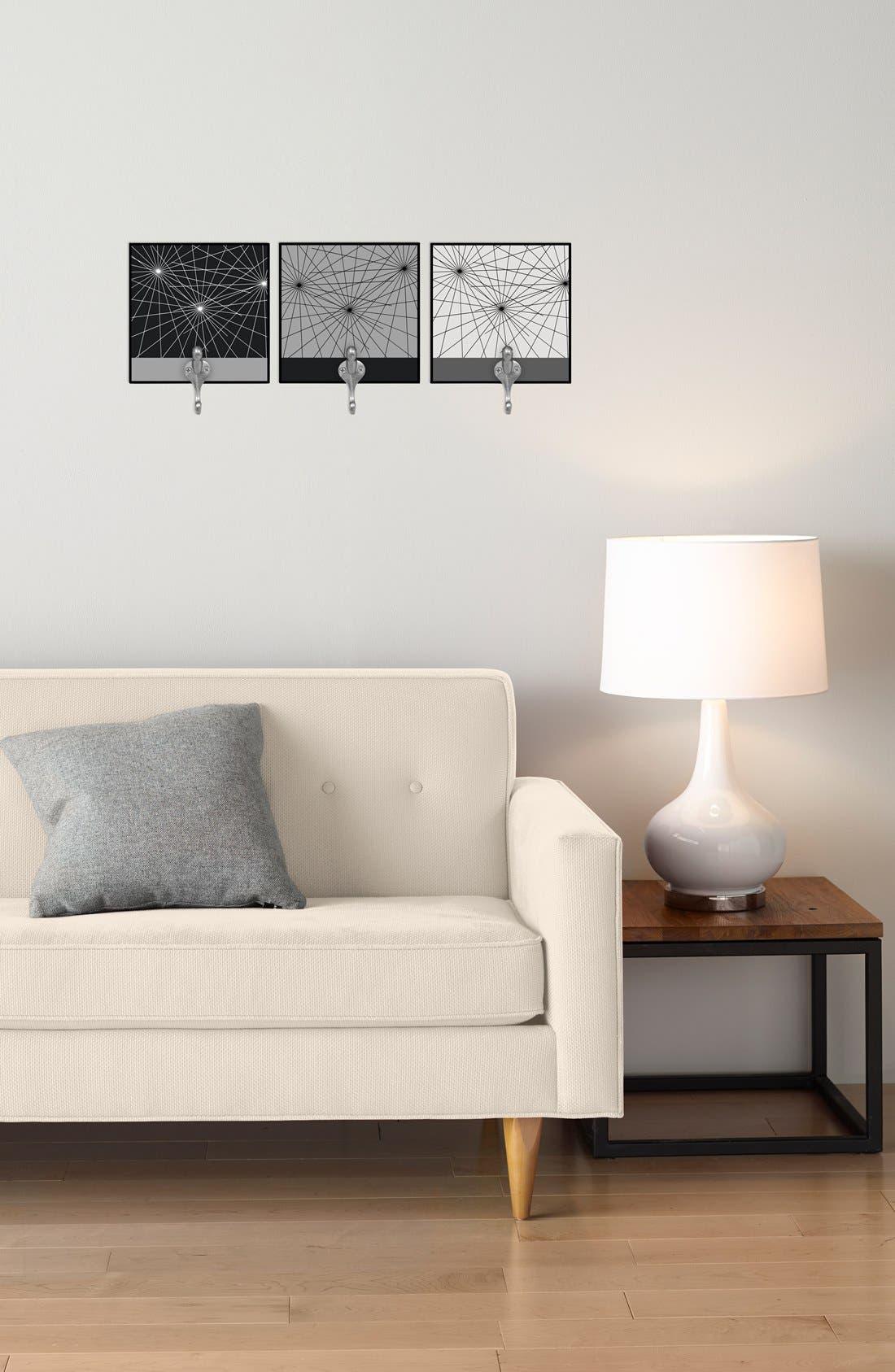 Alternate Image 2  - Green Leaf Art 'Constellations' Decorative Wall Hooks